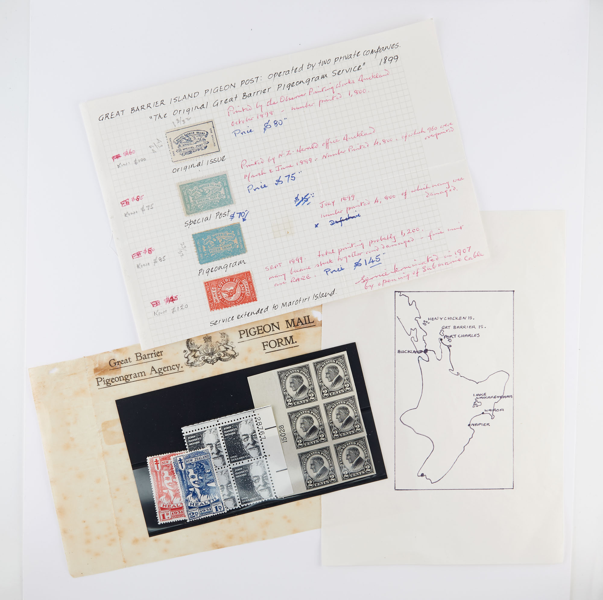 Lot image - World Wide Postage Stamp Group