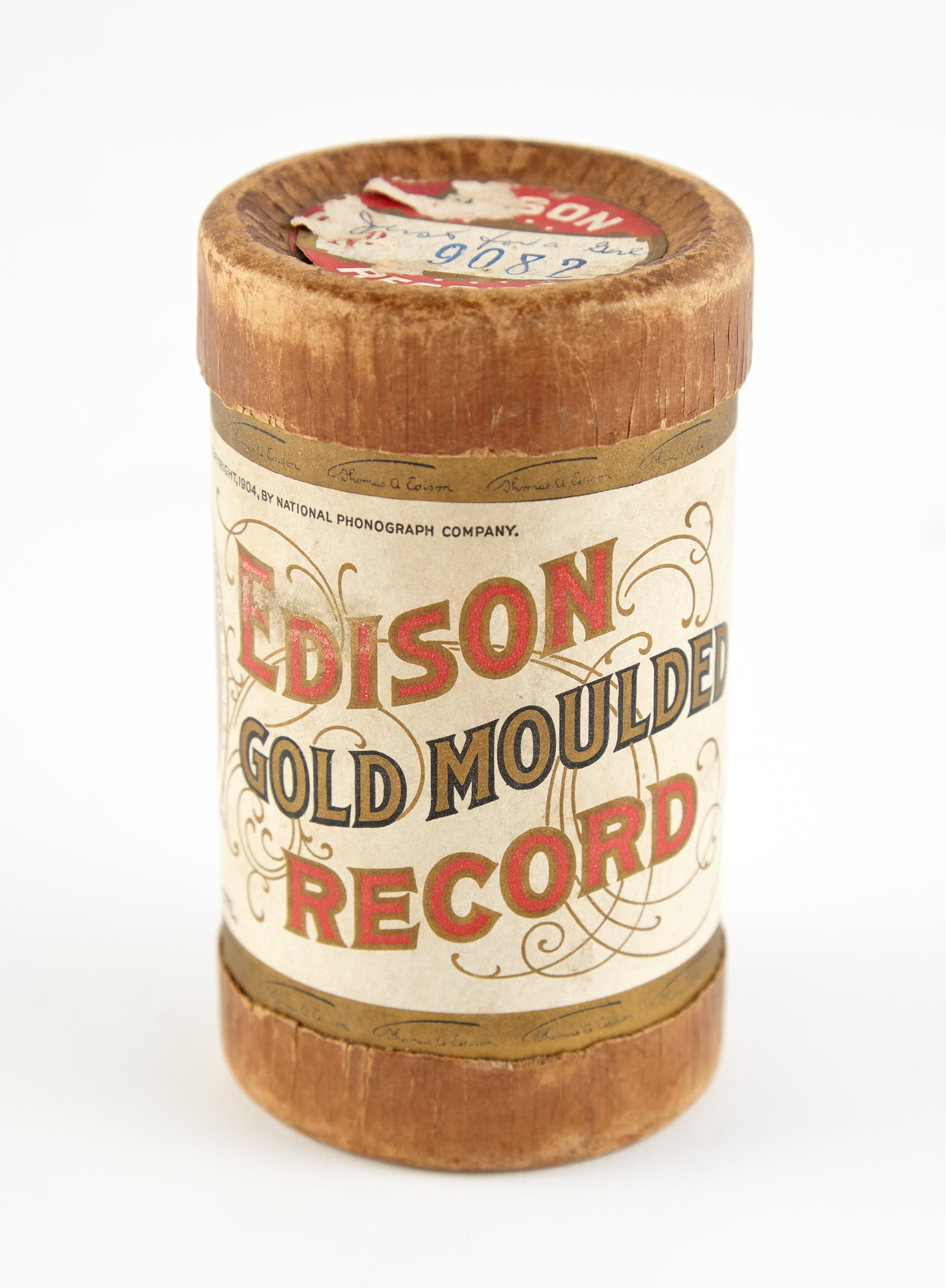 Lot image - Collectibles Group of Edison Records