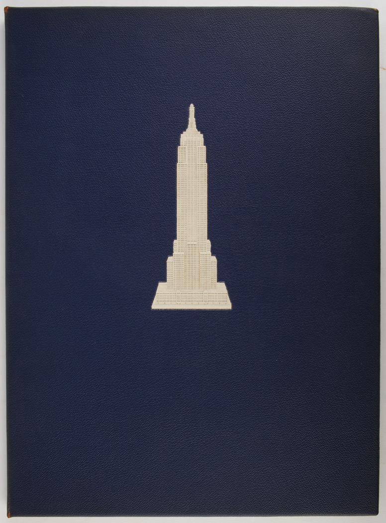 Lot image - [NEW YORK]  BAILEY, VERNON HOWE. Empire State: a Pictorial Record of its Construction.