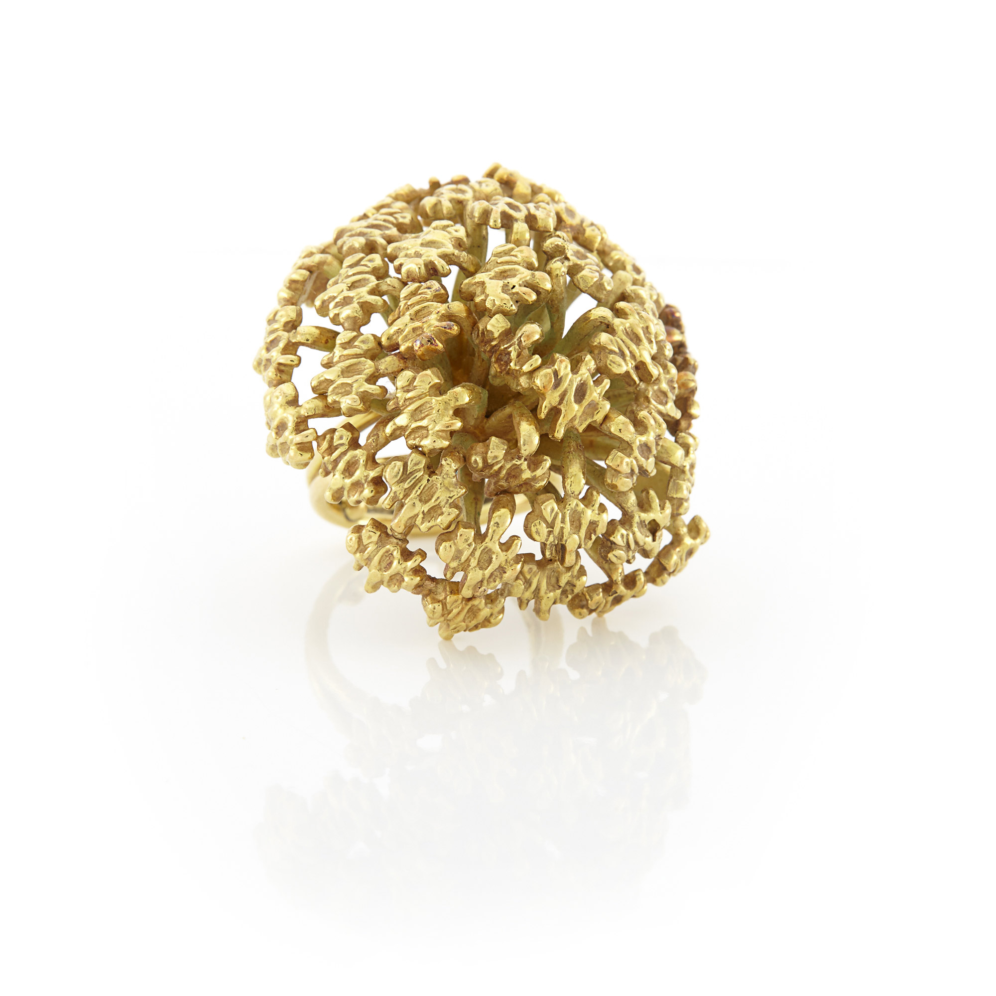 Lot image - Gold Dome Ring, John Donald
