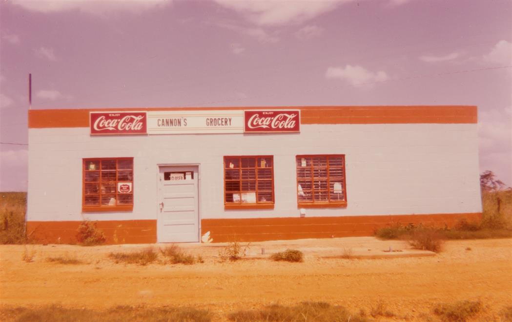 Lot image - CHRISTENBERRY, WILLIAM (1936-2016)  [Alabama, Garage with Coca-Cola Signs