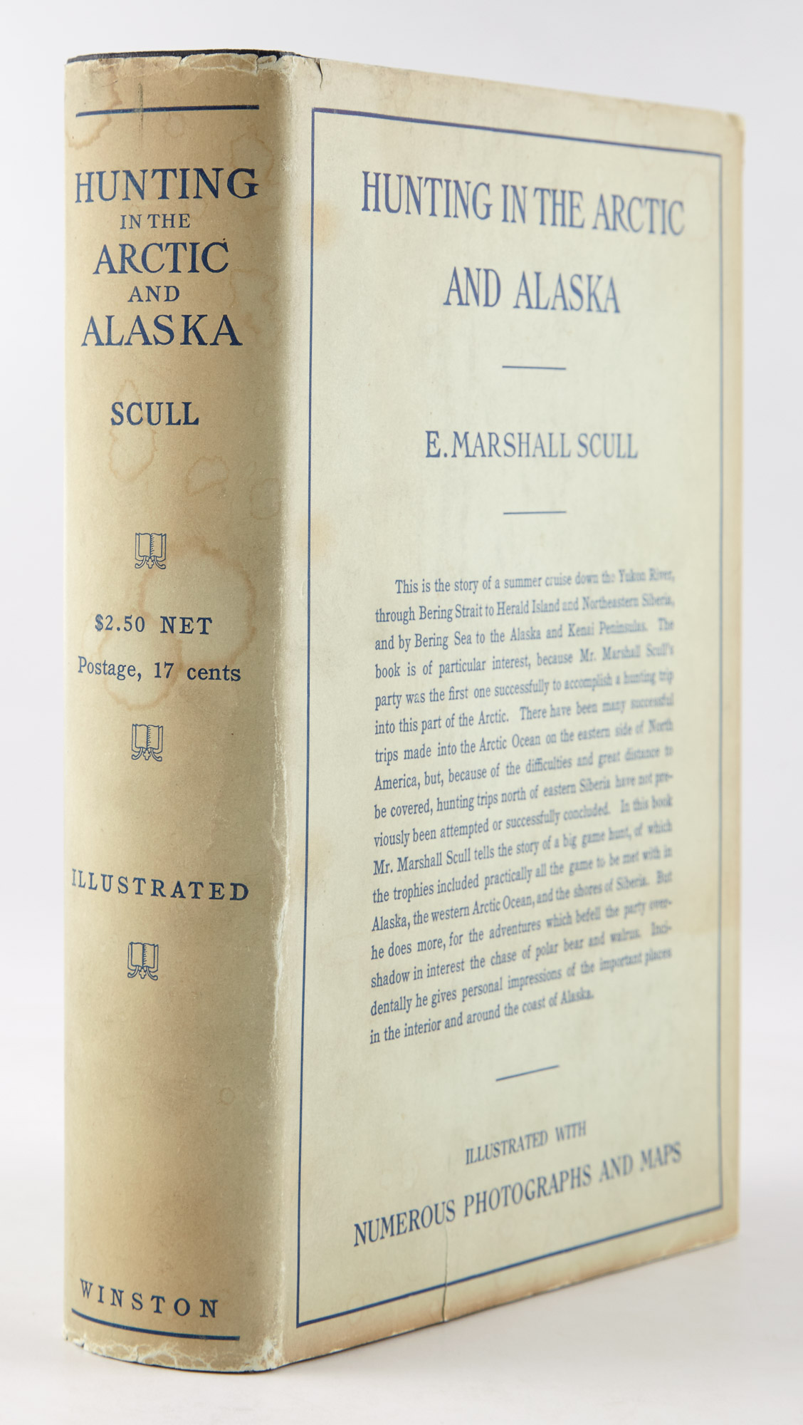Lot image - [ALASKA]  SCULL, E. MARSHALL. Hunting in the Arctic and Alaska.
