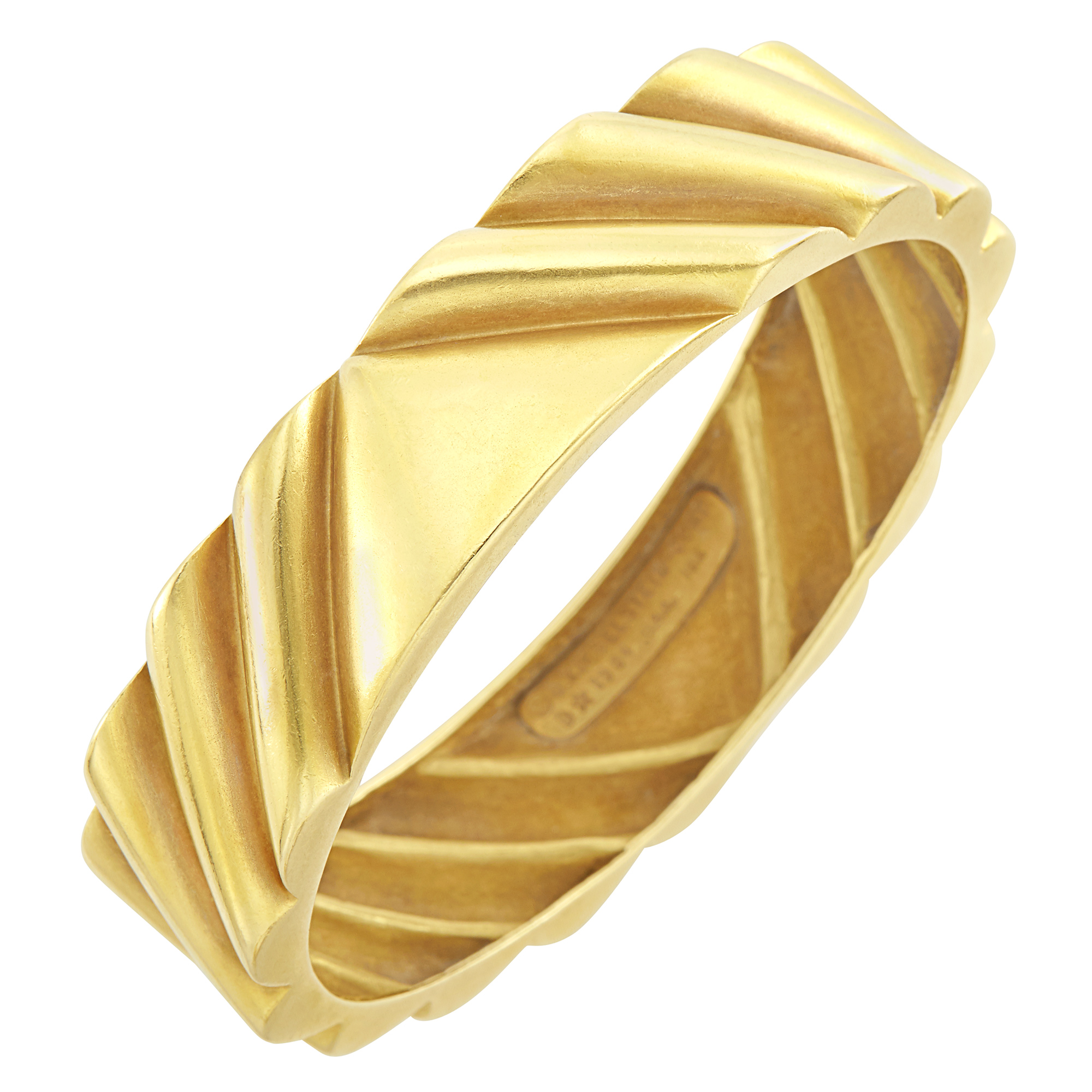 Lot image - Gold Bangle Bracelet, Barry Kieselstein-Cord