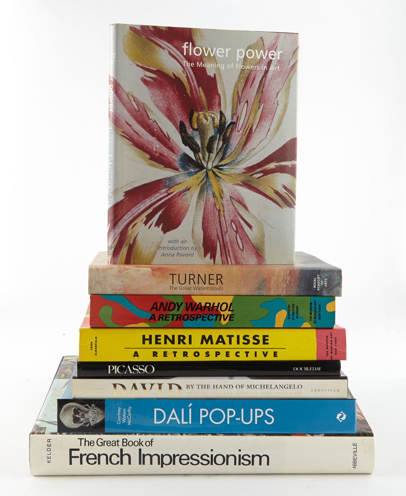 Lot image - [BOOKS]  Group of artist monographs, books on fine art, museum collections, theatre, film, and related subjects.
