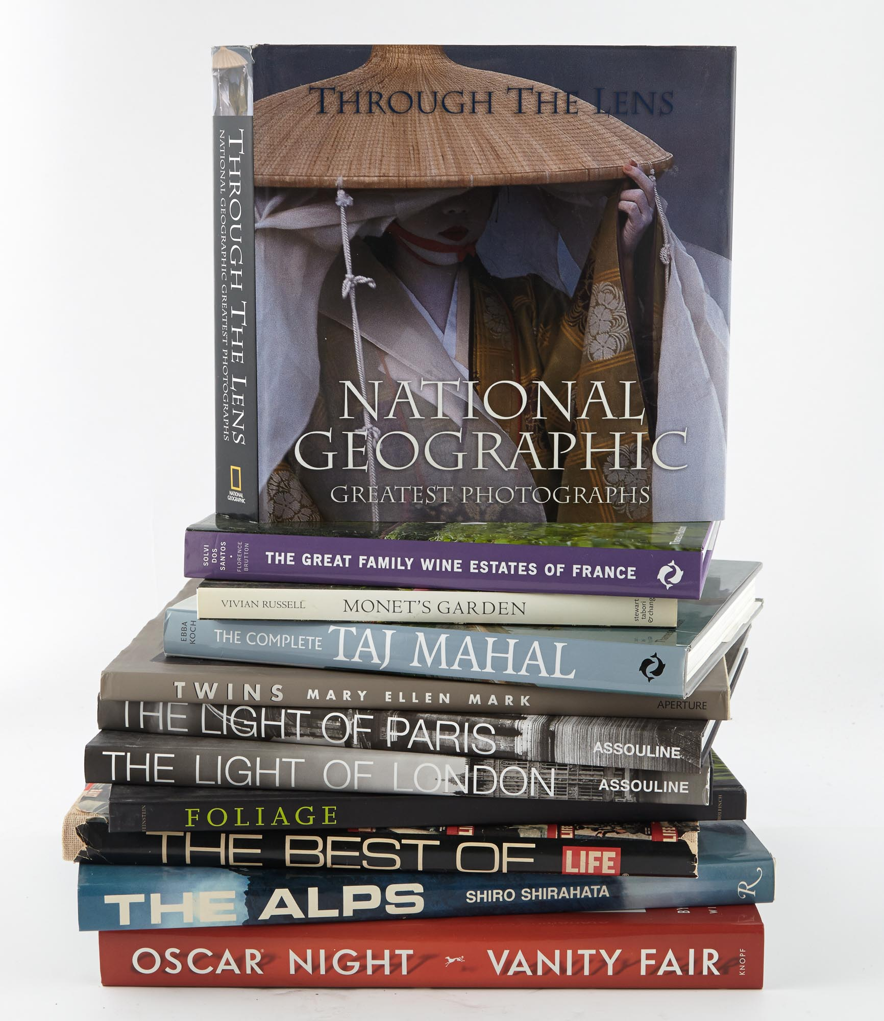 Lot image - [BOOKS]  Group of approximately 50 volumes of photographic interest.