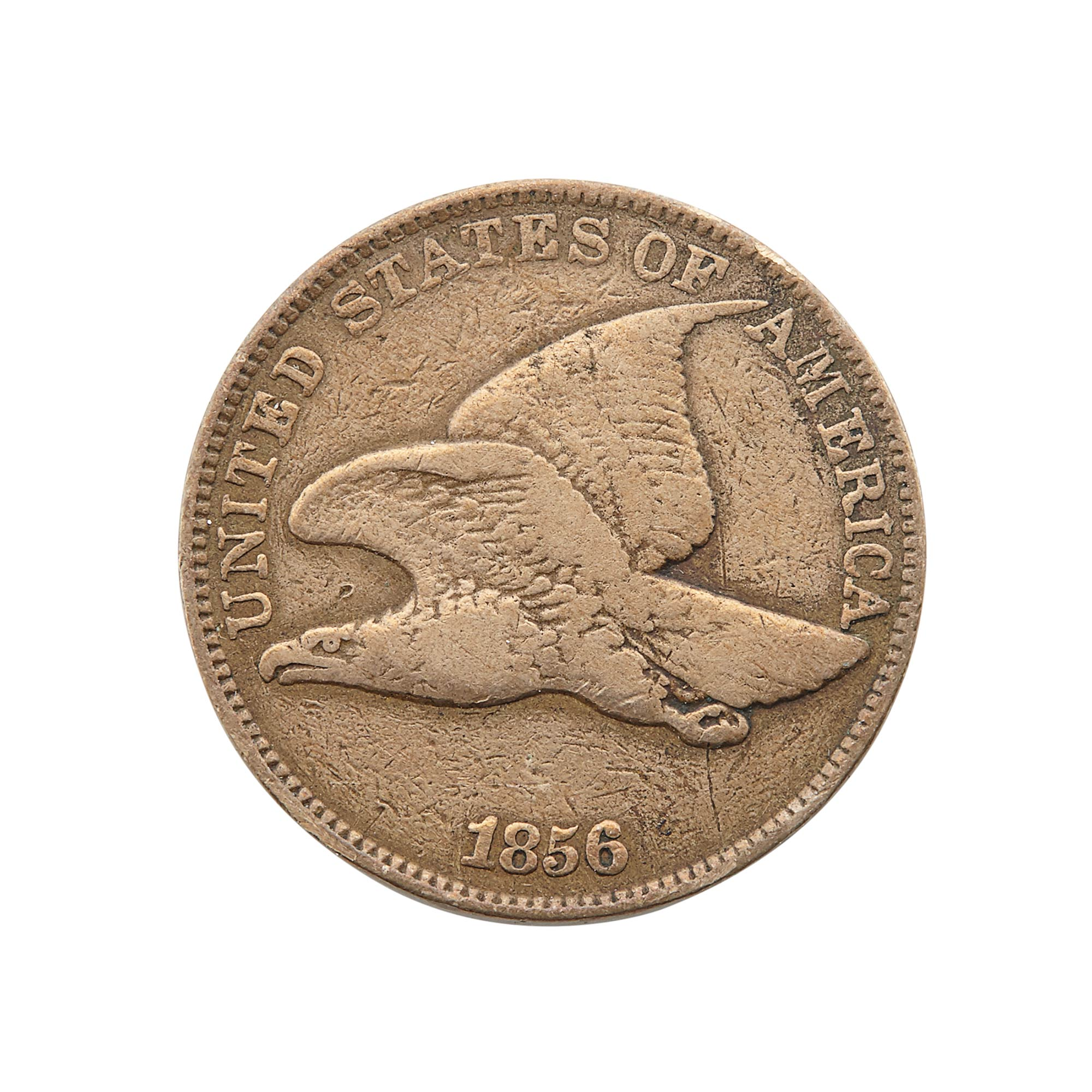 Lot image - United States 1856 Flying Eagle Cent