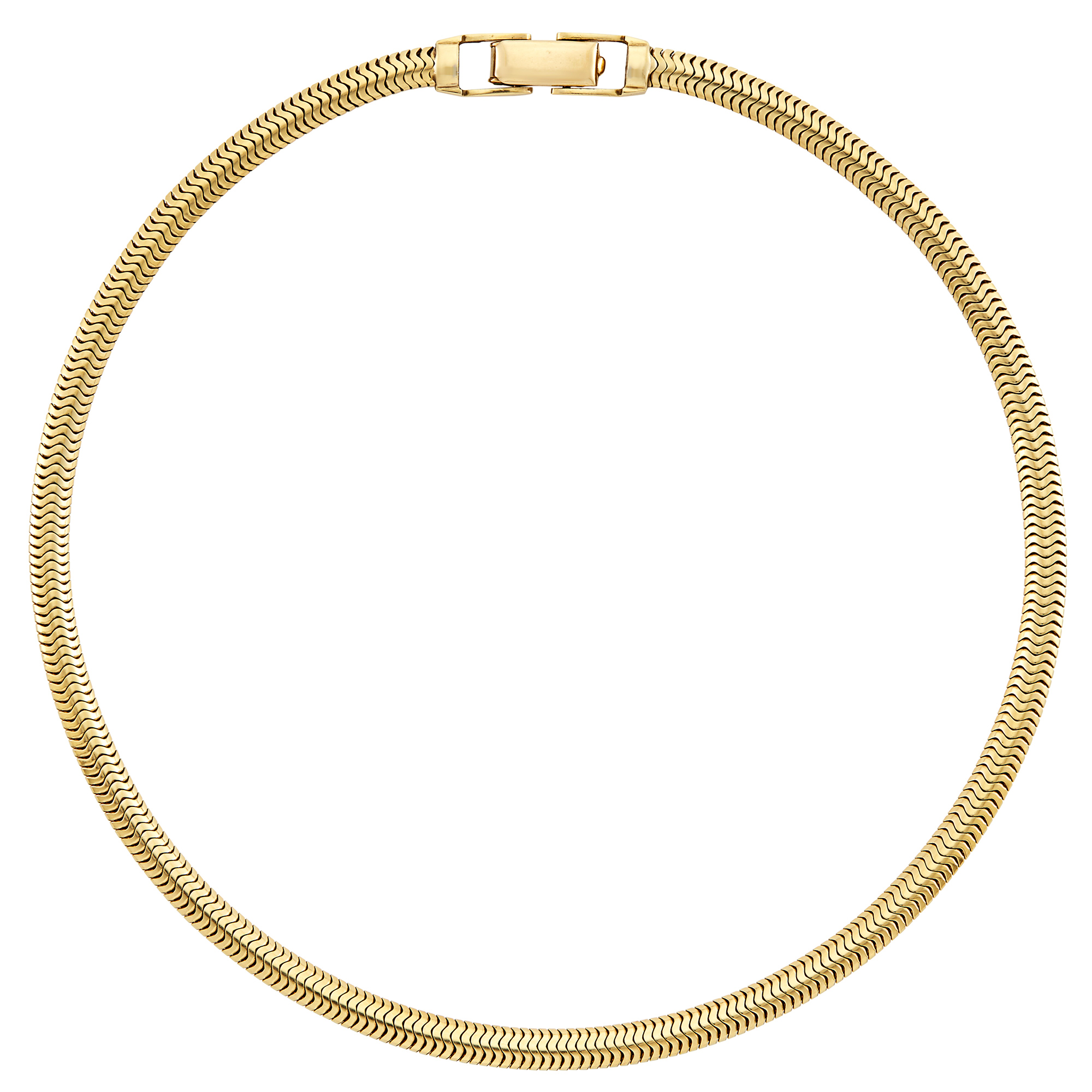 Lot image - Gold Chain Necklace