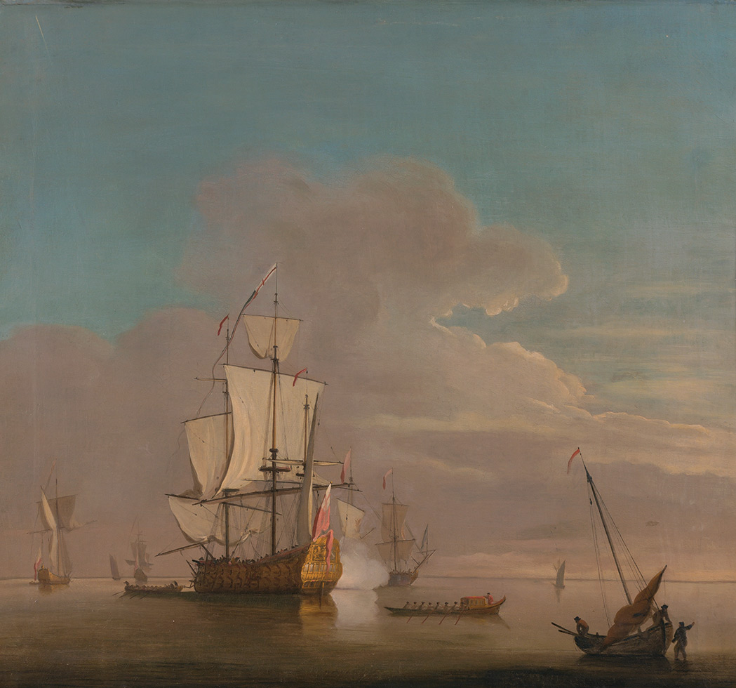 Lot image - Manner of Willem van de Velde