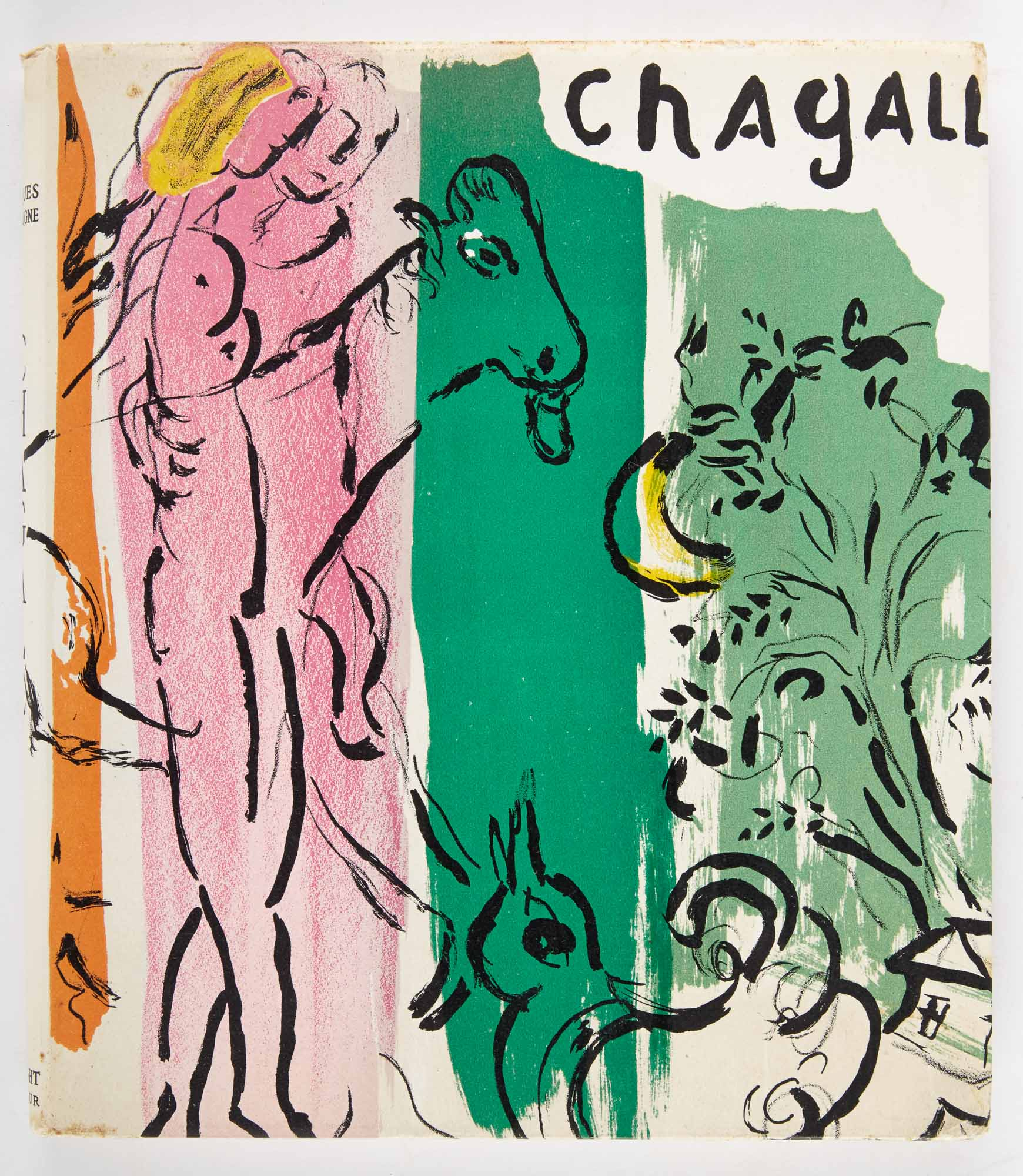 Lot image - [CHAGALL, MARC]  LASSAIGNE, JACQUES. Chagall.
