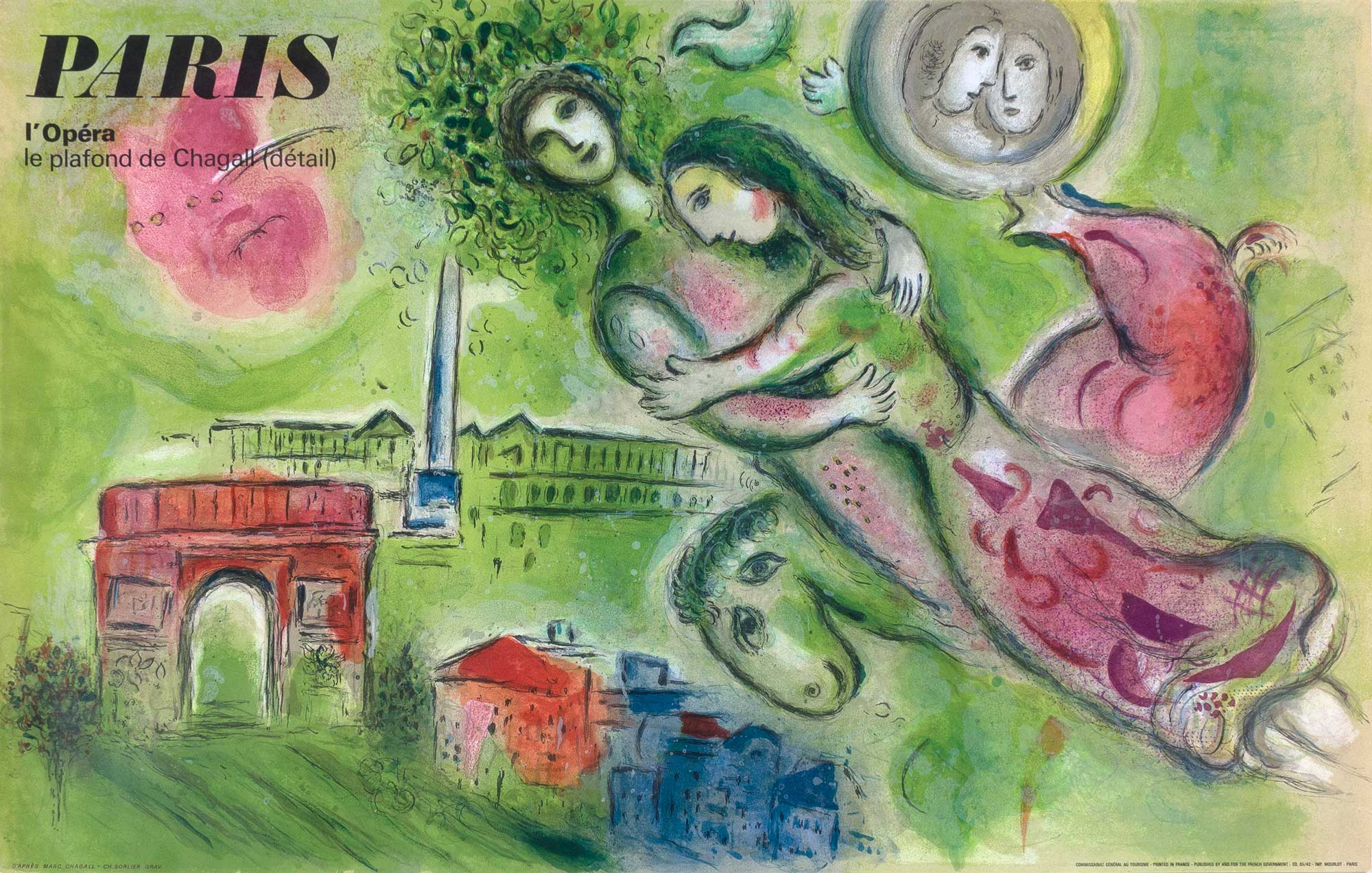 Lot image - After Marc Chagall