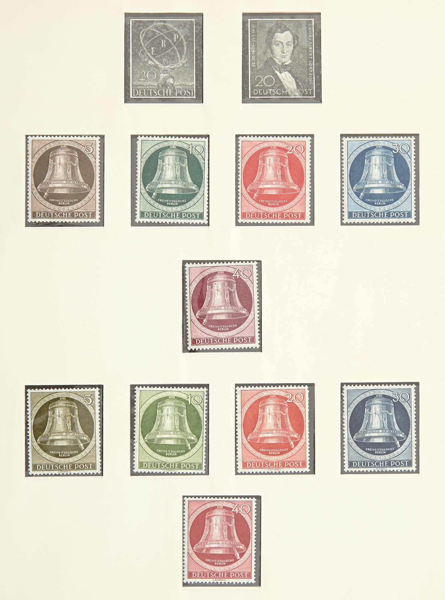 Lot image - German Area Postage Stamp Collection