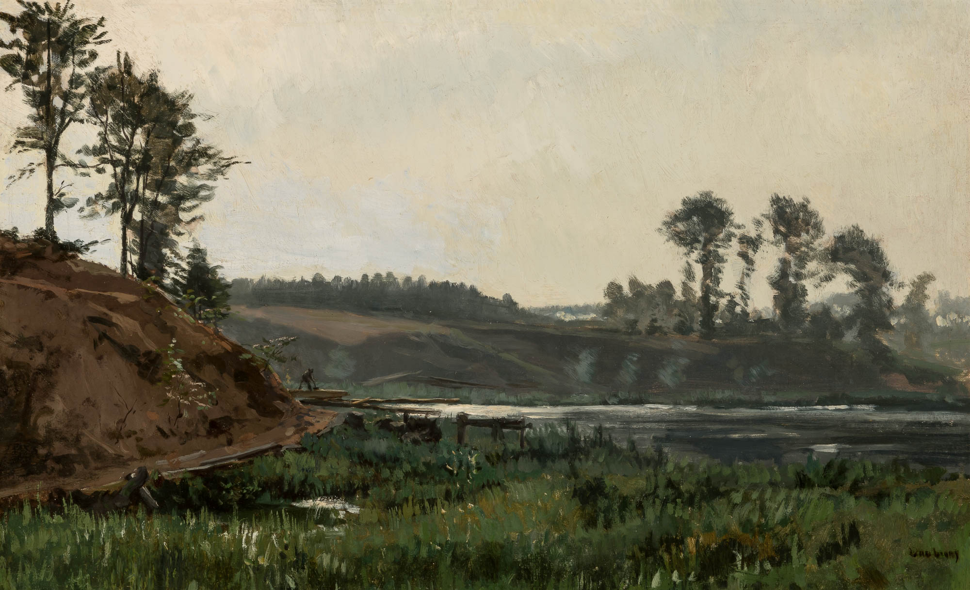 Lot image - Karl Pierre Daubigny