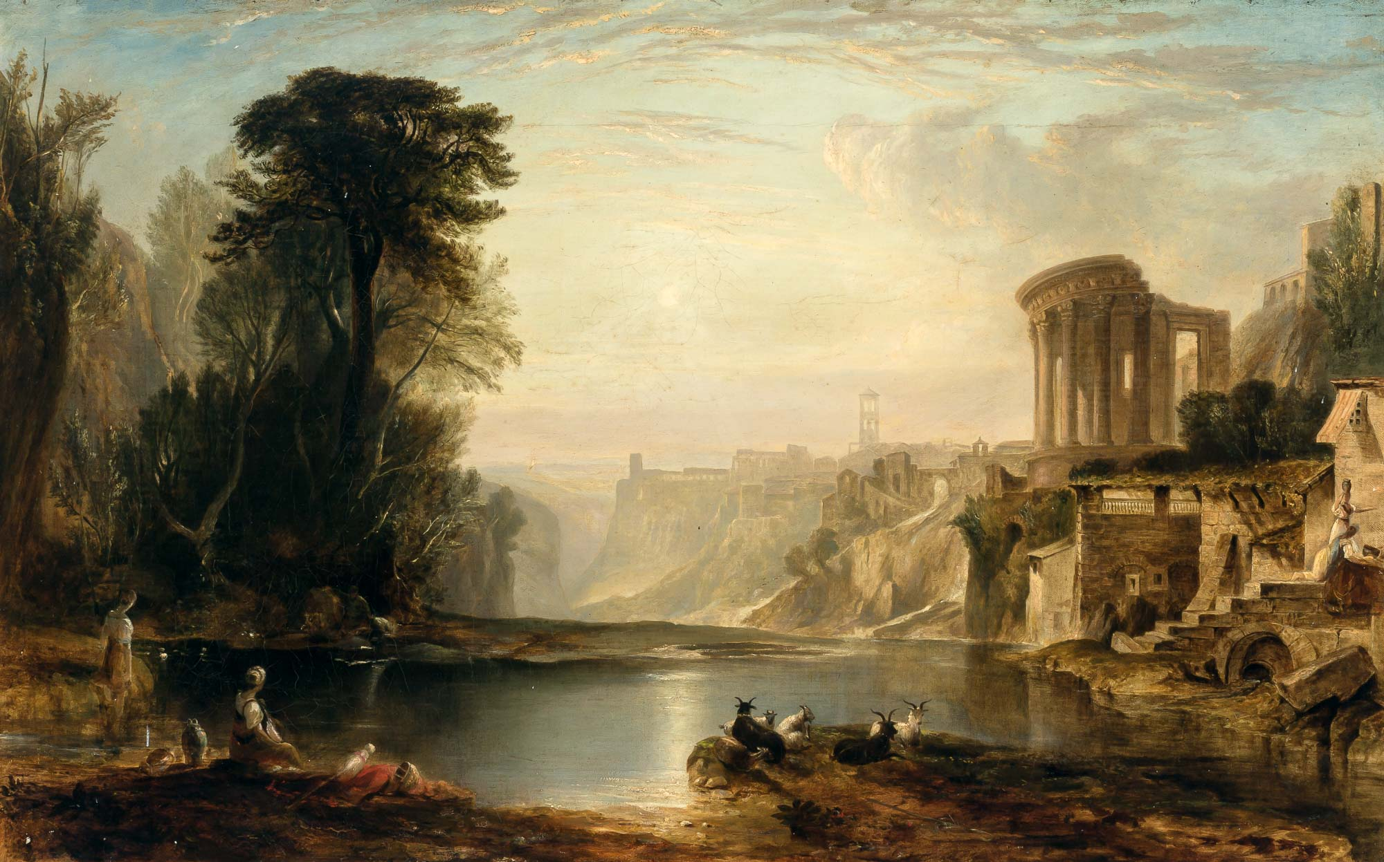 Lot image - Follower of Claude Lorrain