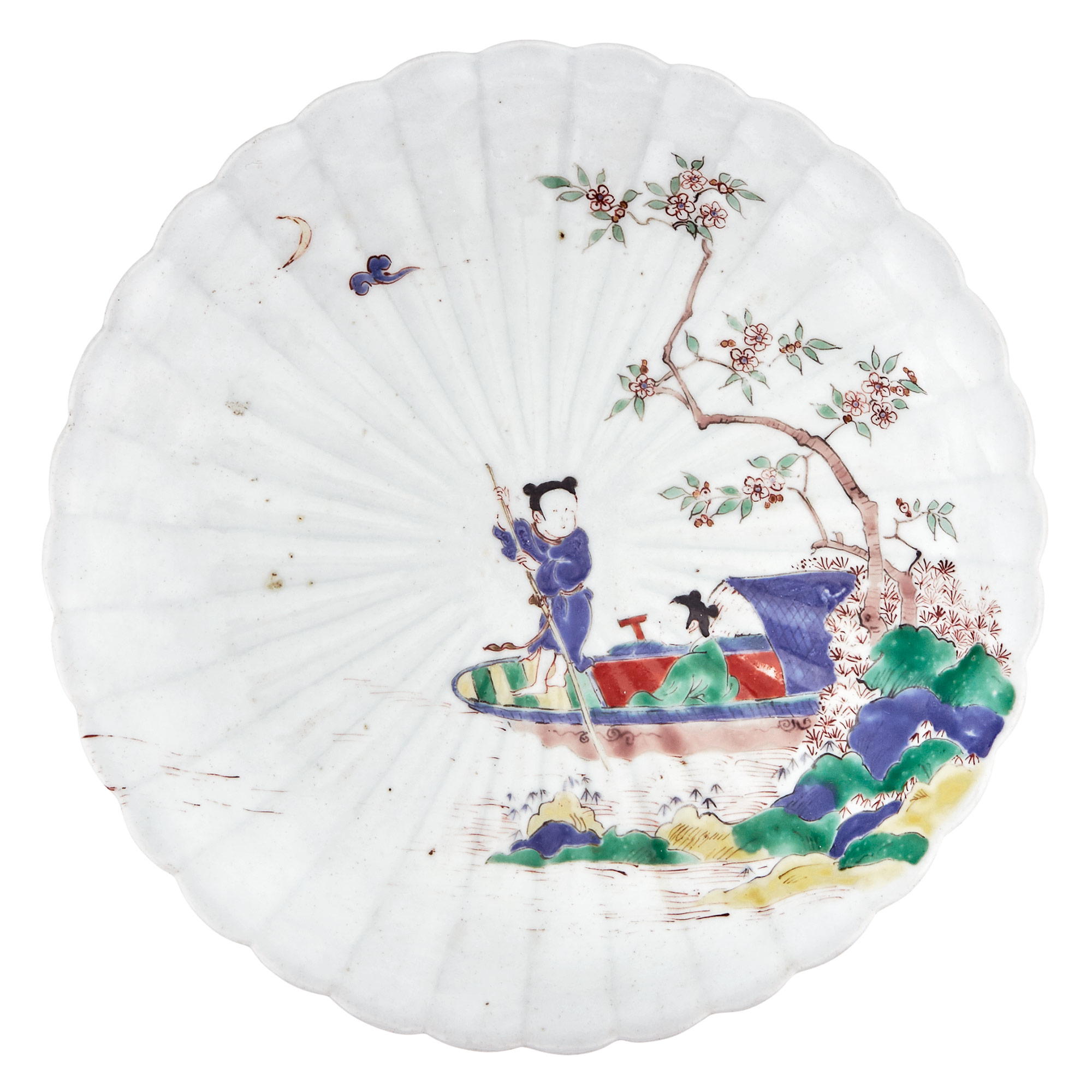 Lot image - Japanese Kakiemon Dish