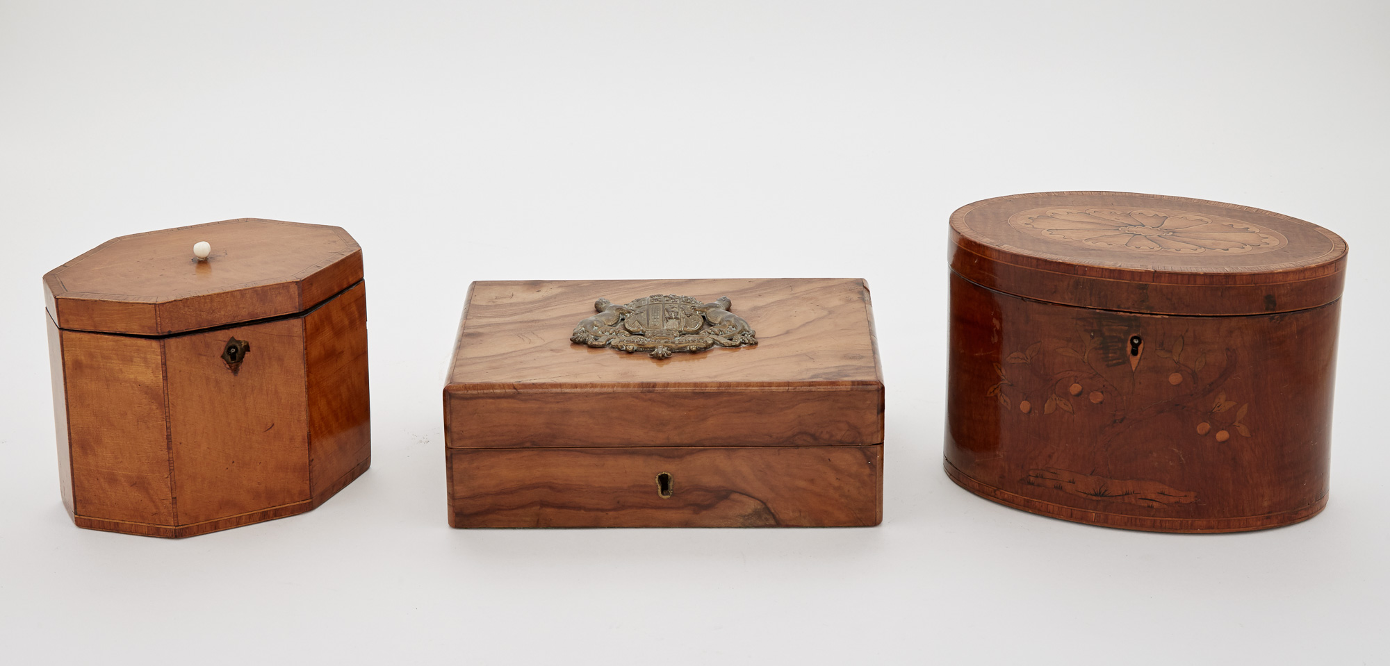 Lot image - Group of Three Boxes