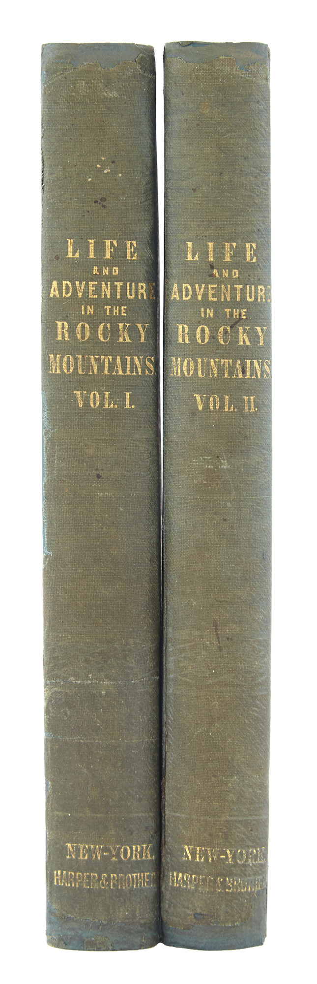 Lot image - STEWART, WILLIAM DRUMMOND (Sir) [WEBB, J. WATSON, ed.]  Altowan: or Incidents of Life and Adventure in the Rocky Mountains by an amateur traveler.