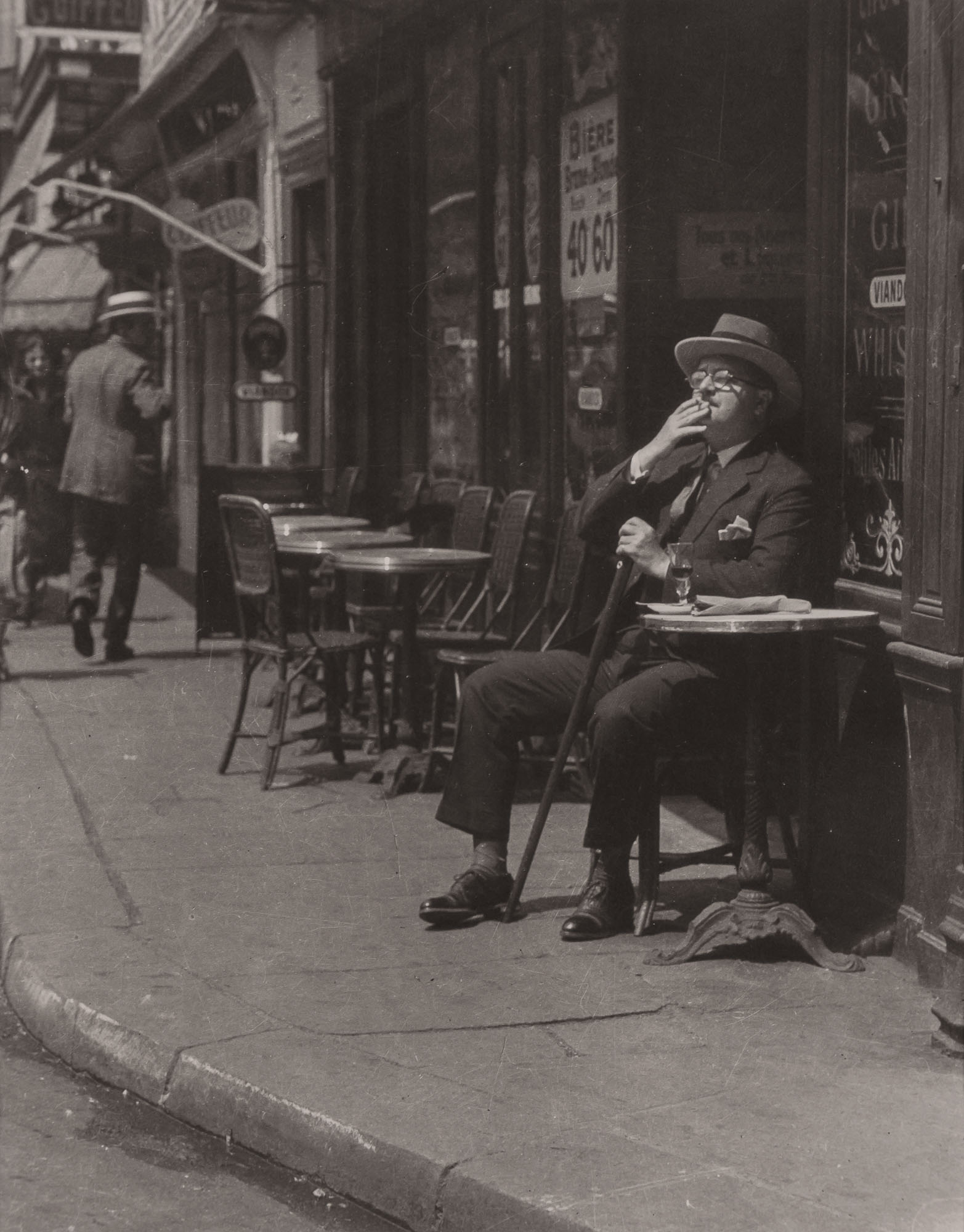 Lot image - ABBE, JAMES (1883-1973)  Alexander Woollcott in Paris,
