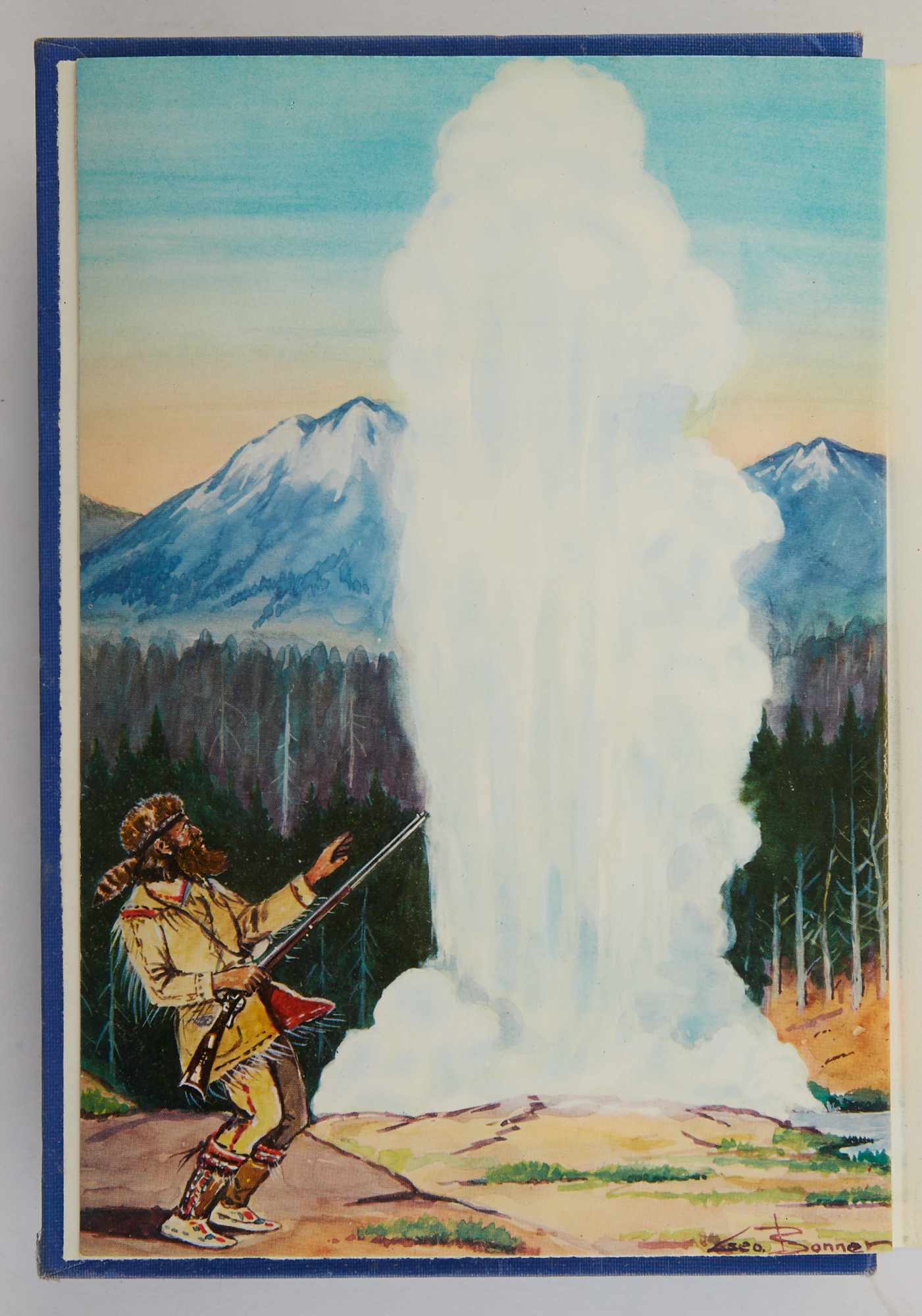Lot image - BEAL, MERRILL D.  The Story of Man in Yellowstone.