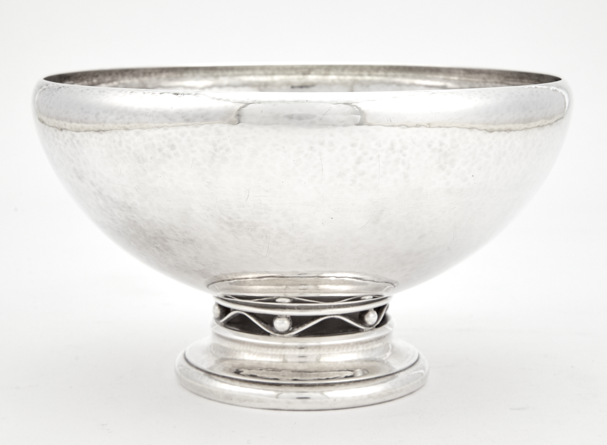 Lot image - Georg Jensen Sterling Silver Footed Center Bowl