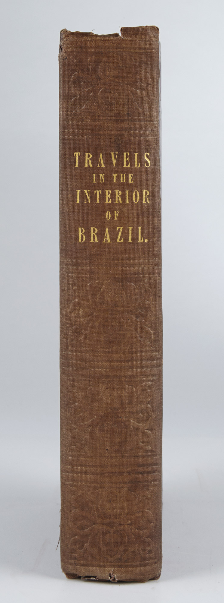 Lot image - [BRAZIL]  GARDNER, GEORGE. Travels in the Interior of Brazil, principally Through The Northern provinces and the gold and diamond districts.