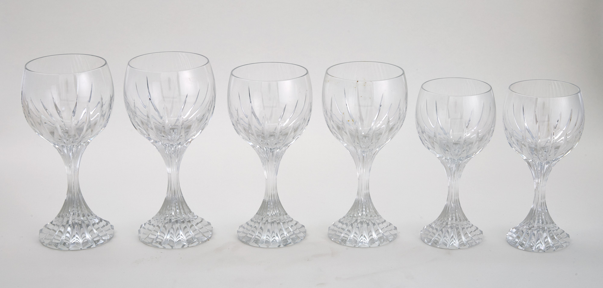 Lot image - Baccarat Cut Glass Massena