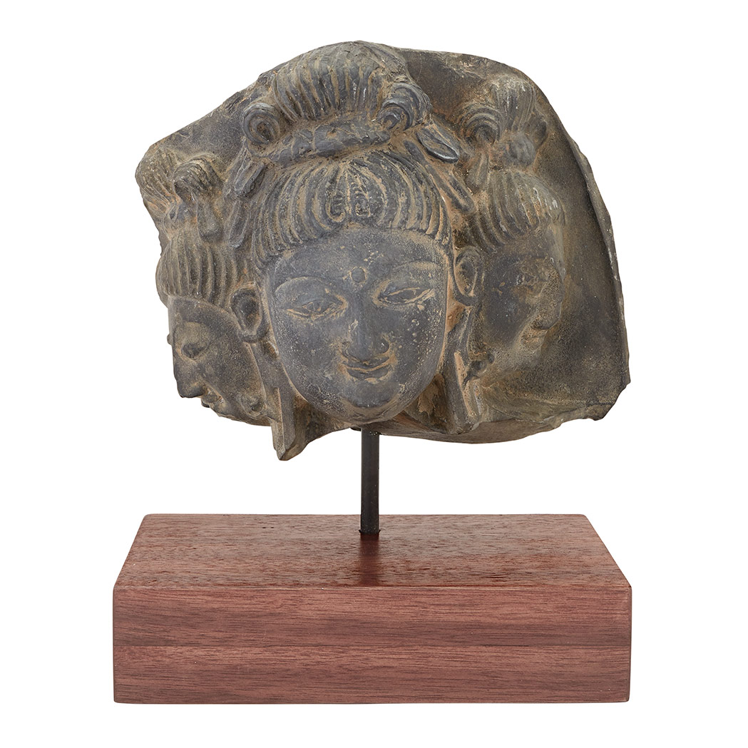 Lot image - Head of a Deity