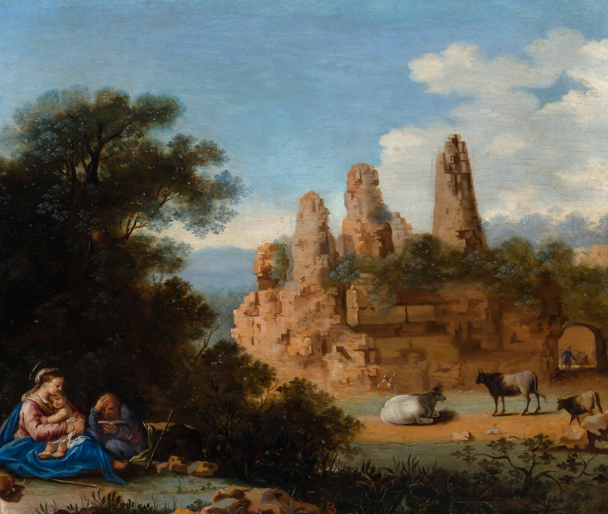 Lot image - Follower of Bartholomeus Breenbergh