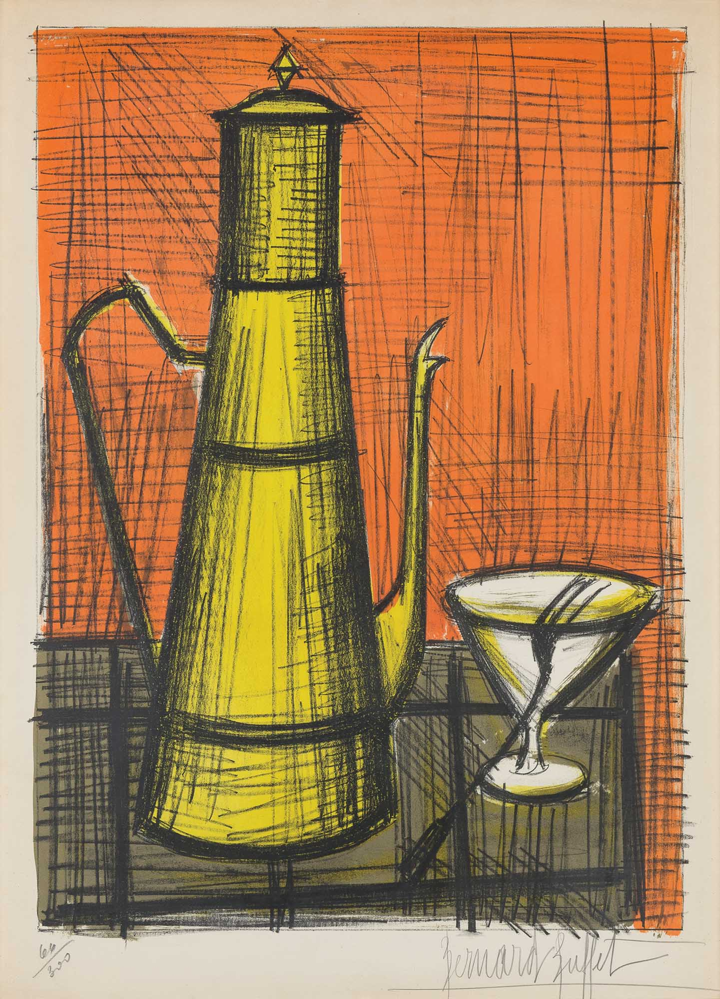 Lot image - Bernard Buffet (1928-1999)