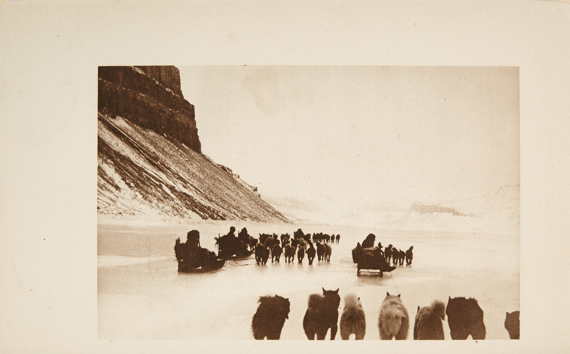 Lot image - WHITNEY, HARRY  Hunting with the Eskimos; the unique record of a sportsmans year among the northernmost tribe--the big game hunting, the native life, and the battle for existence through the long Arctic night.