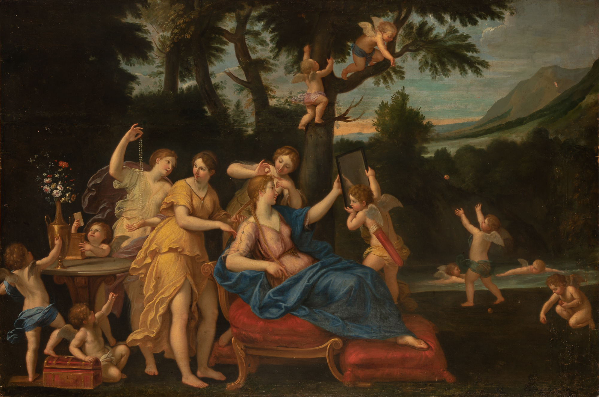 Lot image - School of Francesco Albani
