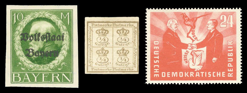 Lot image - Germany and Great Britain Stamp Collections