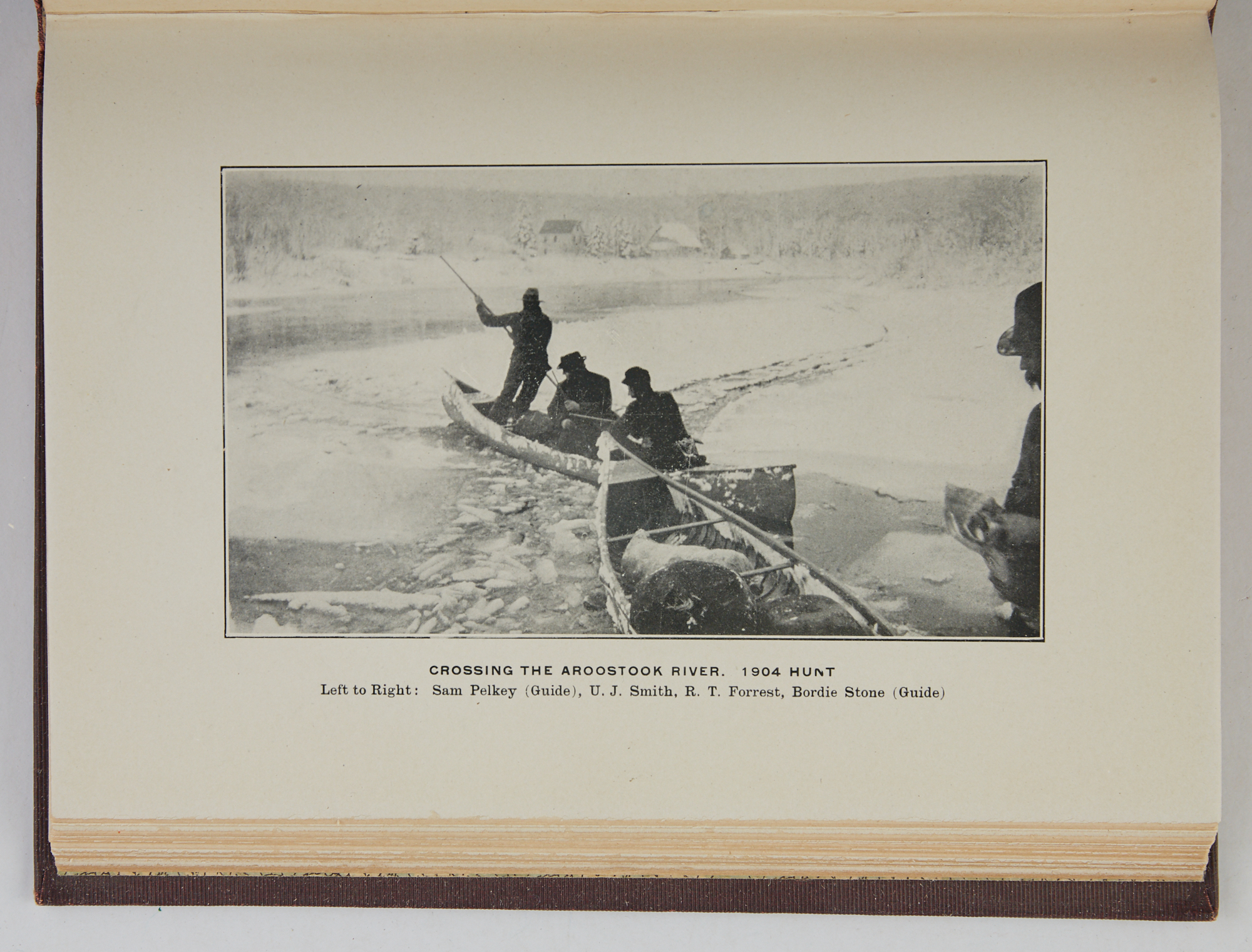Lot image - POTTER, ARTHUR G. et al.  The 1907 Hunt of the Forest City Hunting Club In the Wilds of Northern Maine.