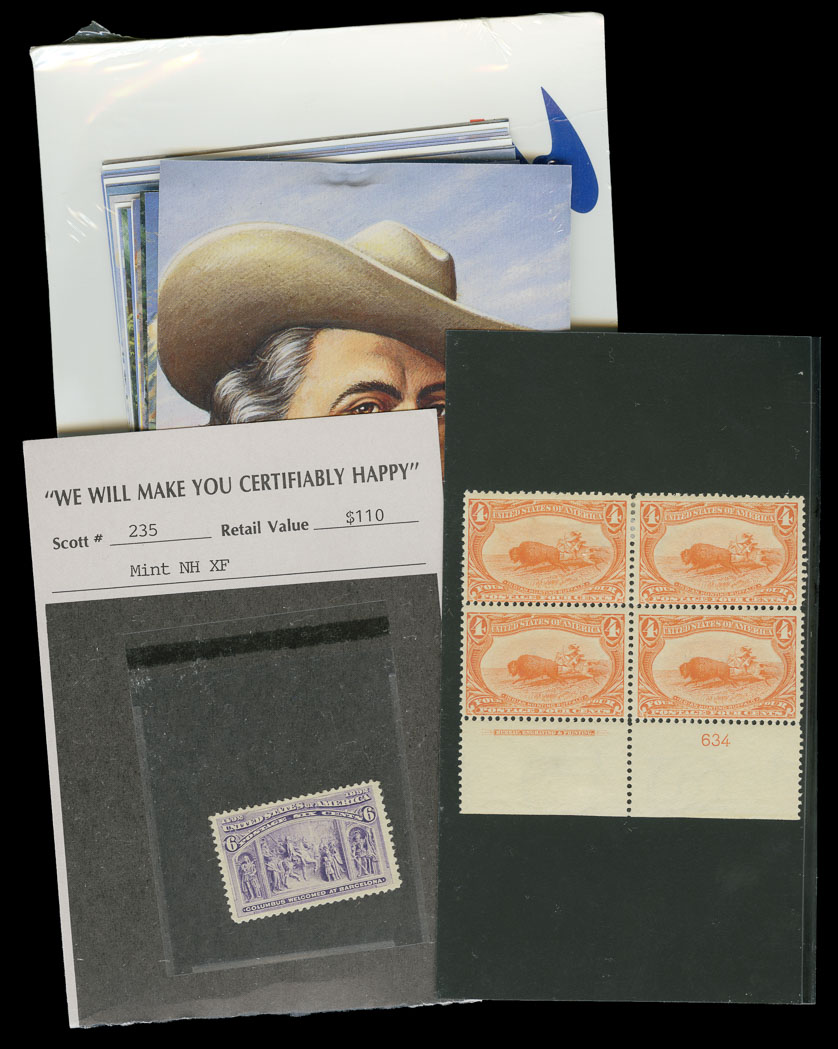Lot image - United States Mélange of Postage Stamps