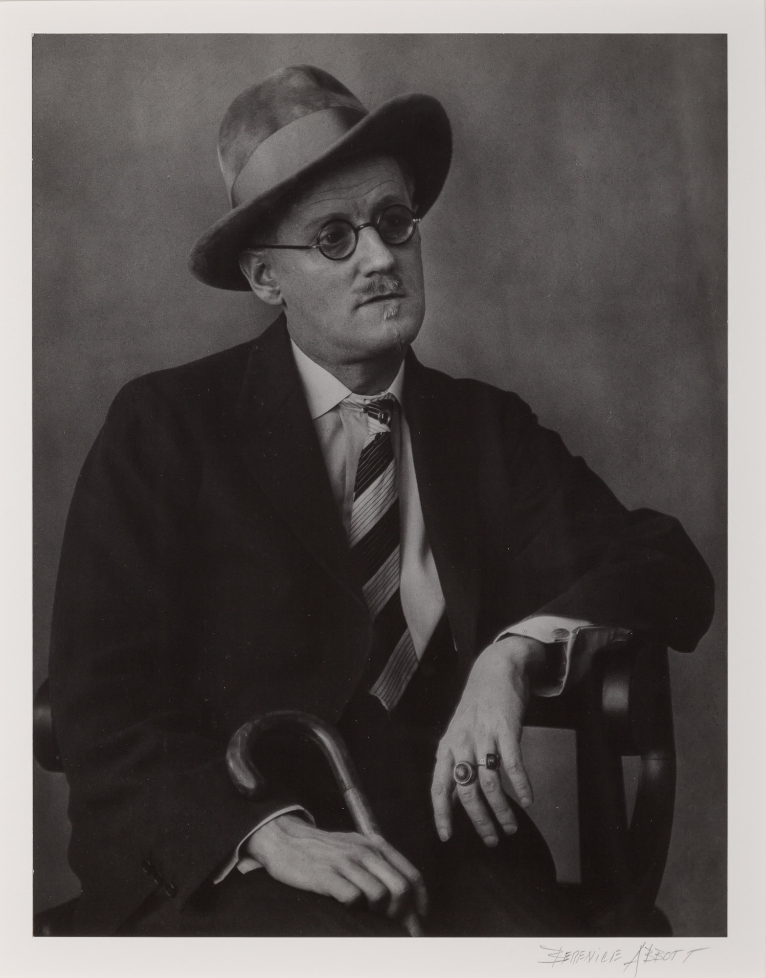 Lot image - ABBOTT, BERENICE (1898-1991)  James Joyce,