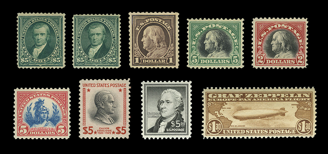 Lot image - United States Better Mint Singles