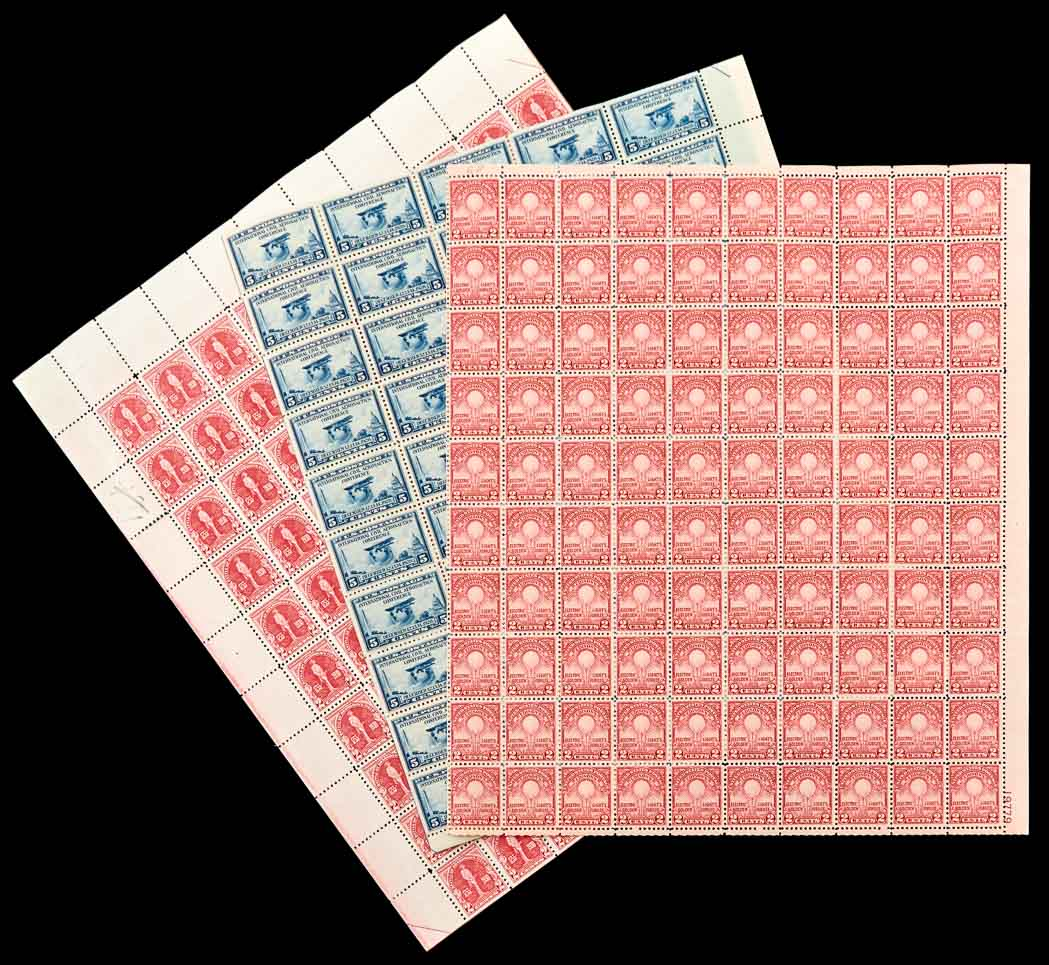 Lot image - United States Mint Sheet Holding