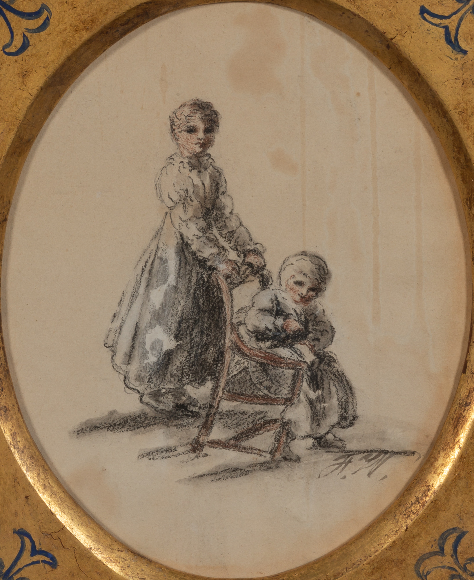 Lot image - Attributed to Francis Wheatley