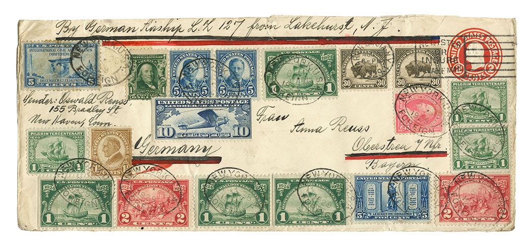 Lot image - United States Flight Covers