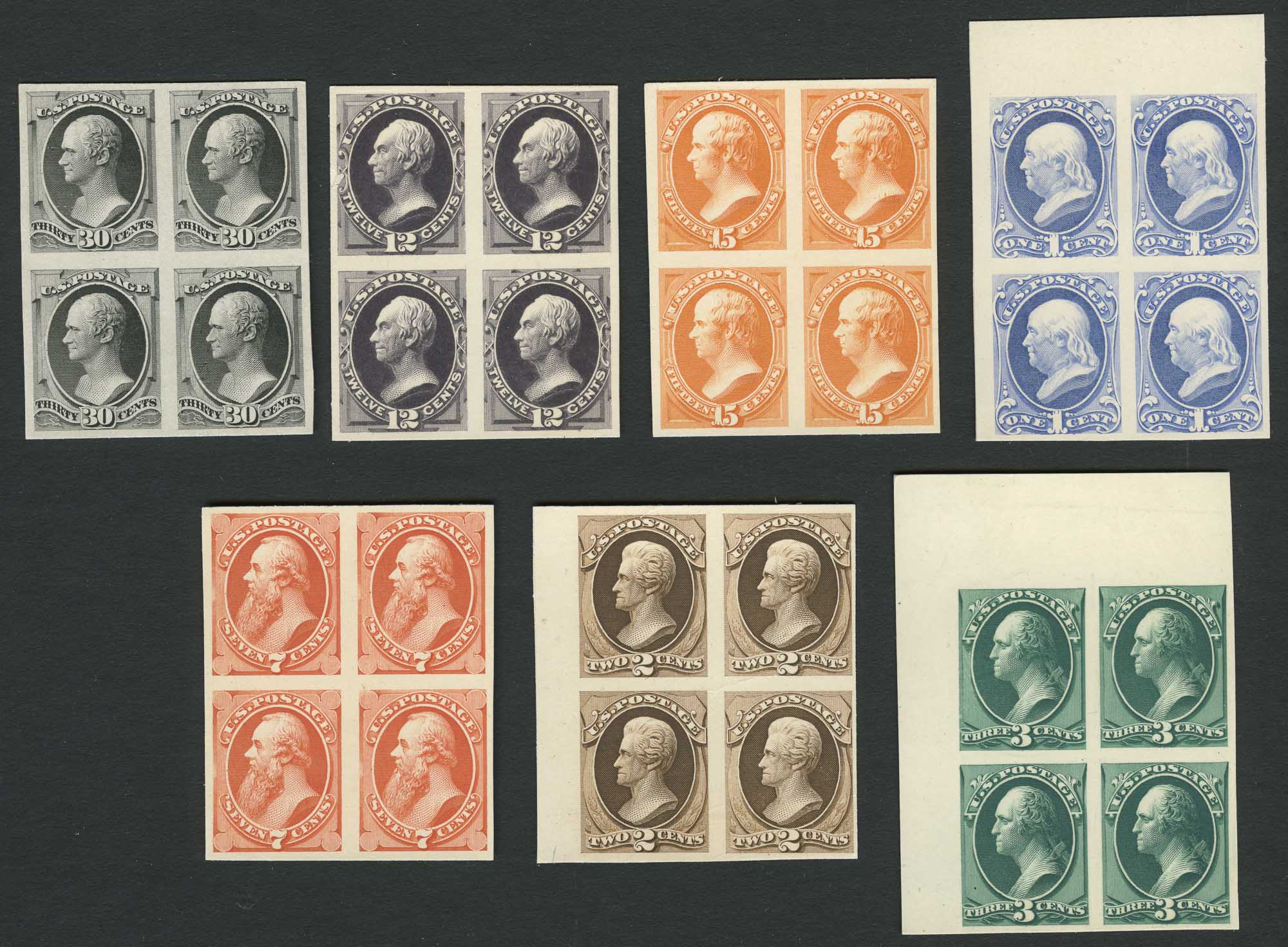 Lot image - United States Bank Note Issue Proofs