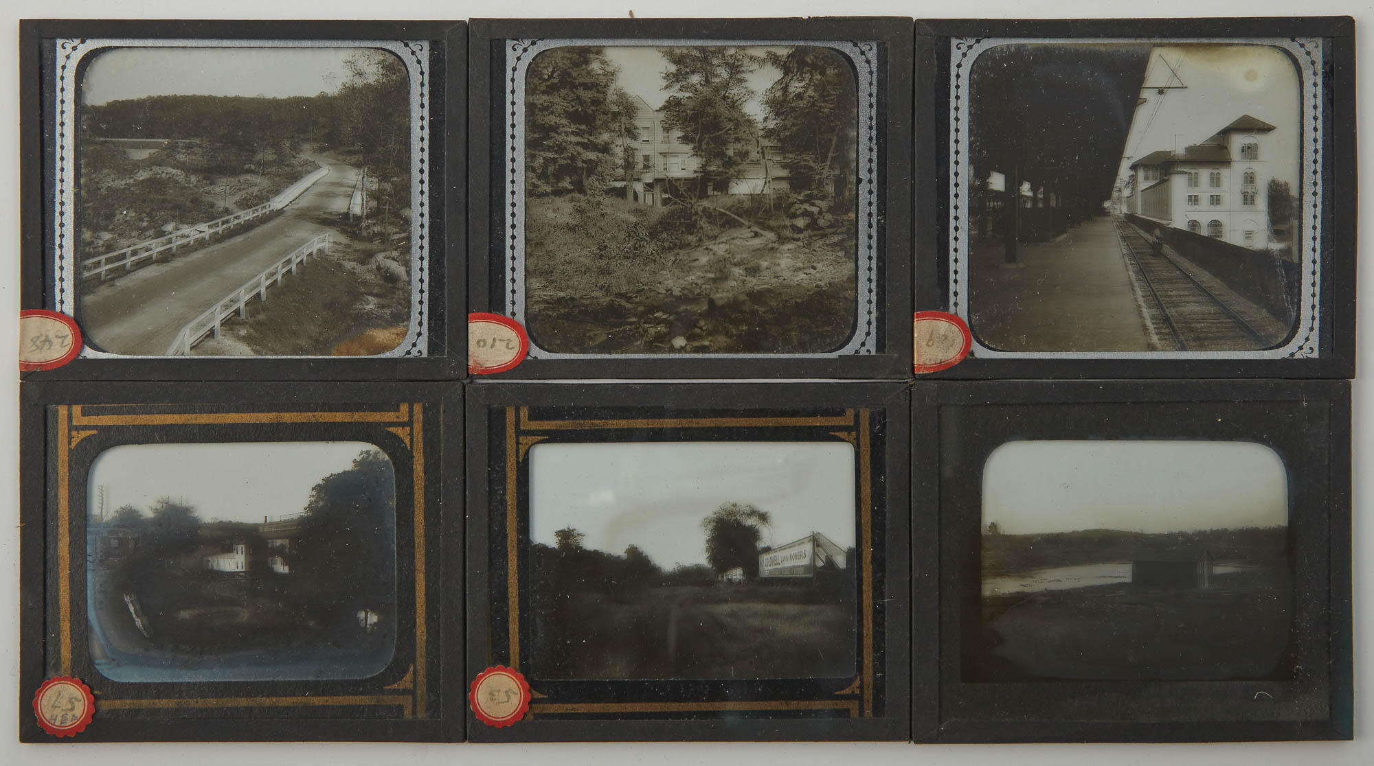 Lot image - [BRONX RIVER PARKWAY]  Series of approximately ninety glass plate slides