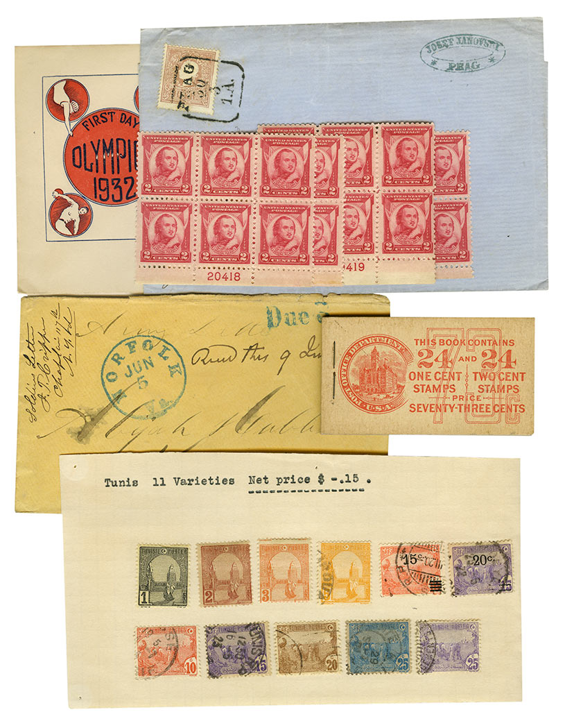 Lot image - United States and Foreign Stamp Group
