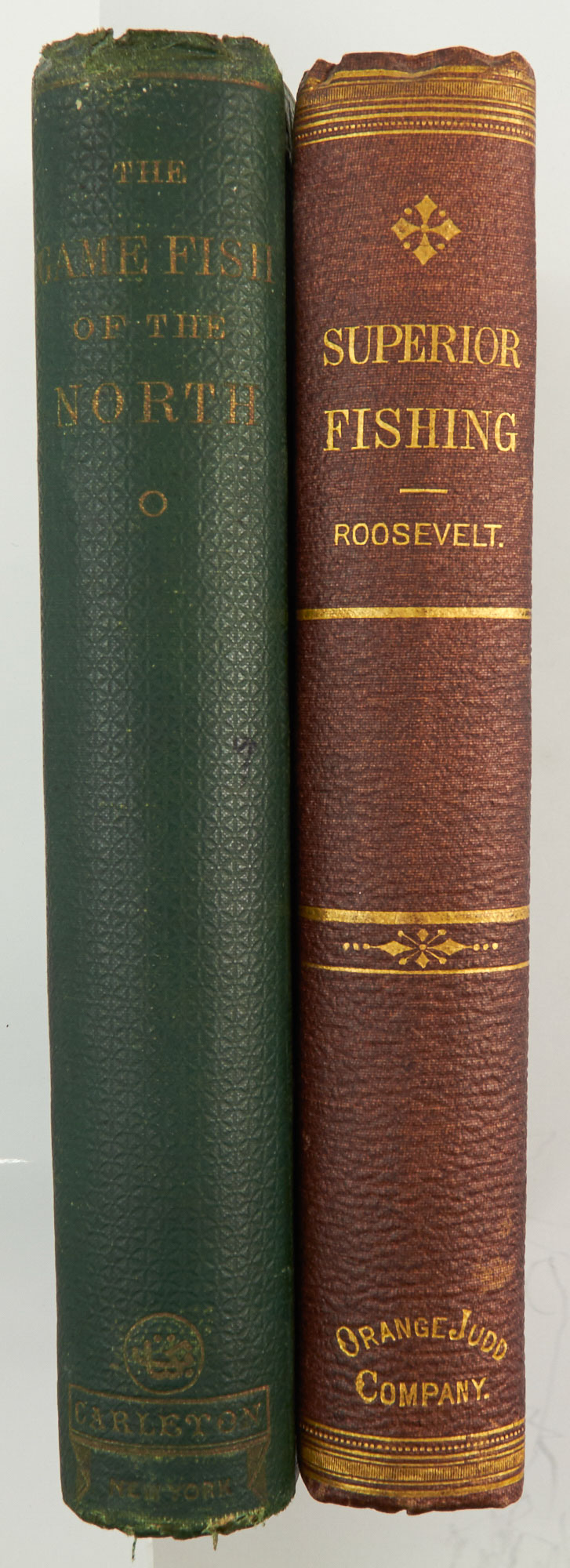 Lot image - [ANGLING - LITCHFIELD COPY]  ROOSEVELT, ROBERT BARNWELL (A Barnwell). Game Fish of the Northern States of America, and British Provinces.