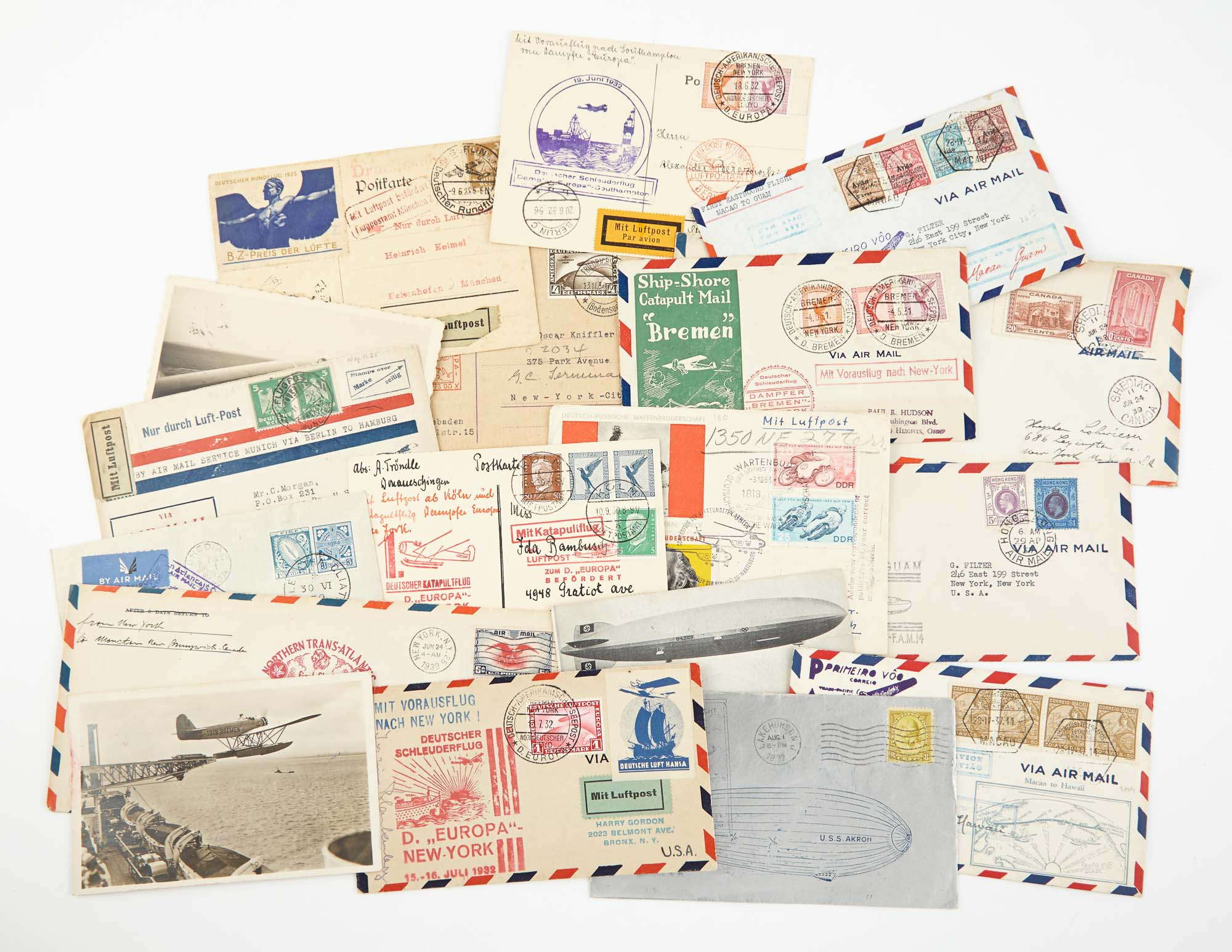 Lot image - World Wide Flight Covers