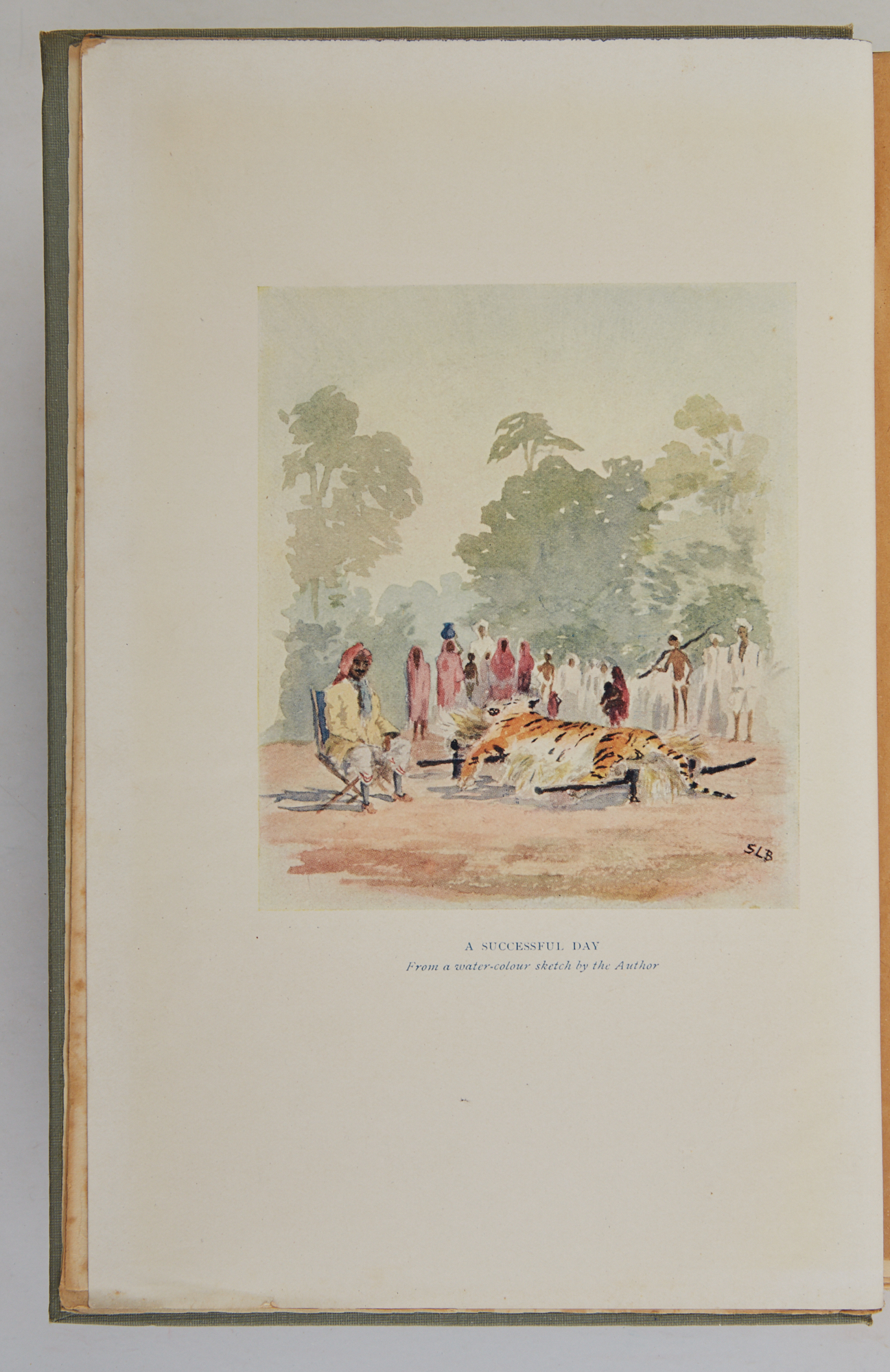 Lot image - BAILLIE, W. W., Mrs.  Days and Nights of Shikar. With a frontispiece by the author.