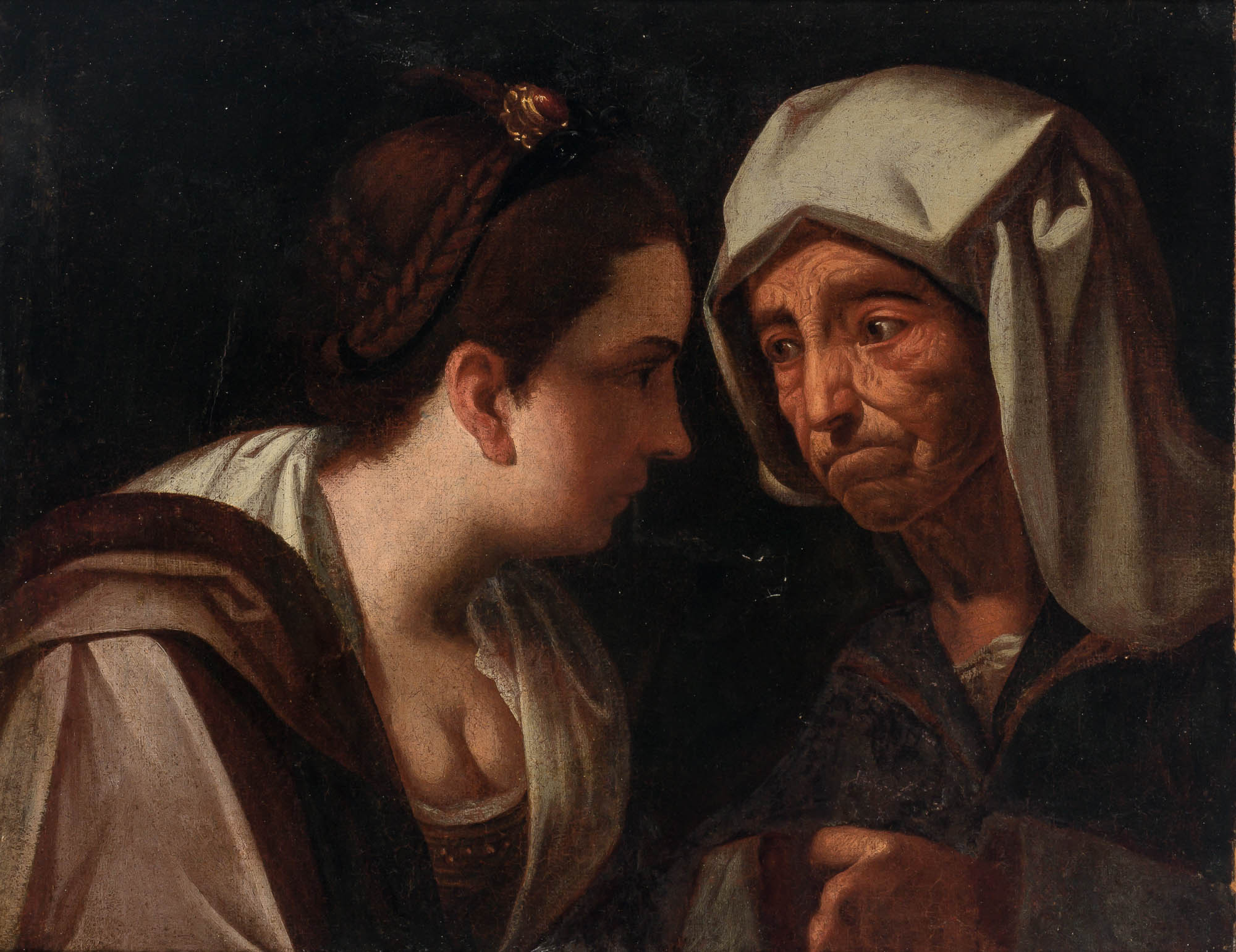 Lot image - Italian Caravaggesque School