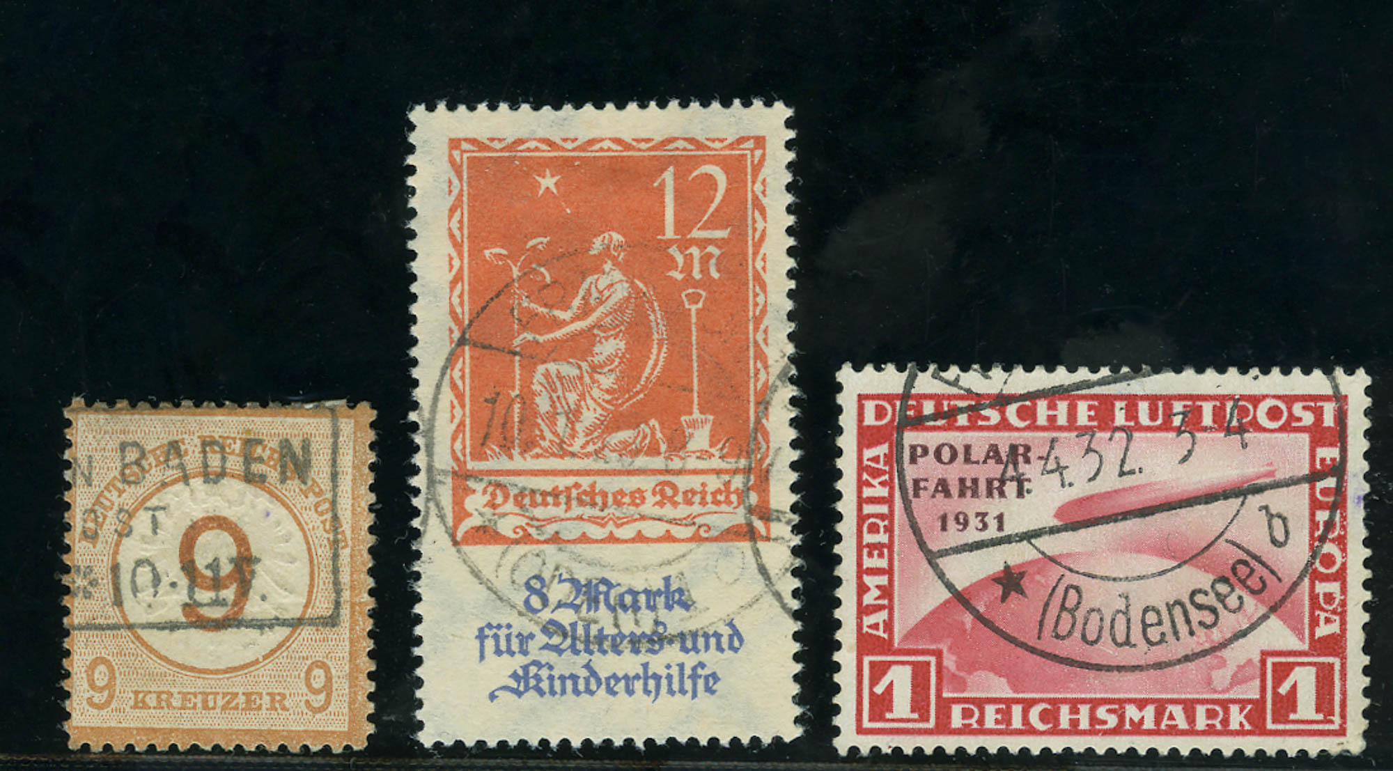 Lot image - German Used Stamp Collection