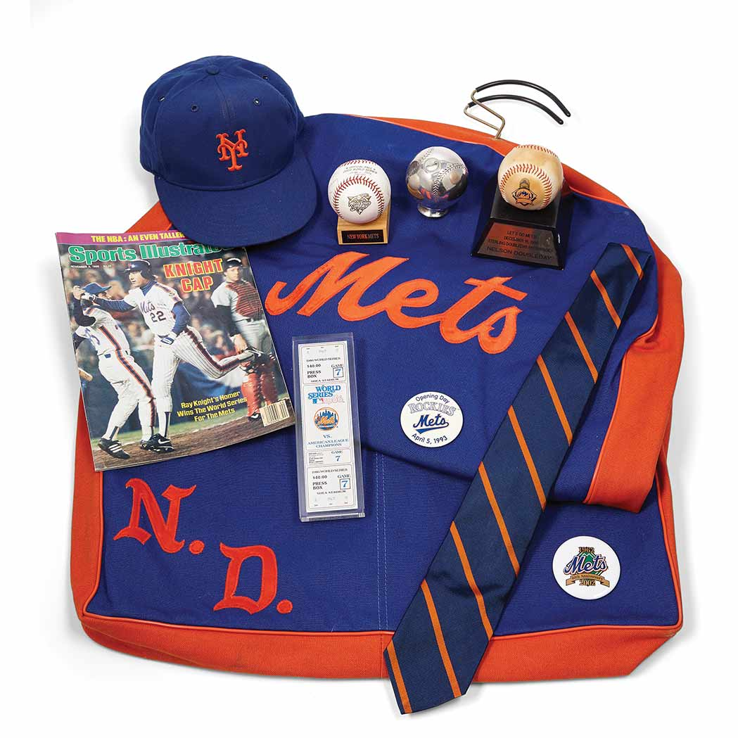 Lot image - New York Mets  An interesting group of the owner's memorabilia
