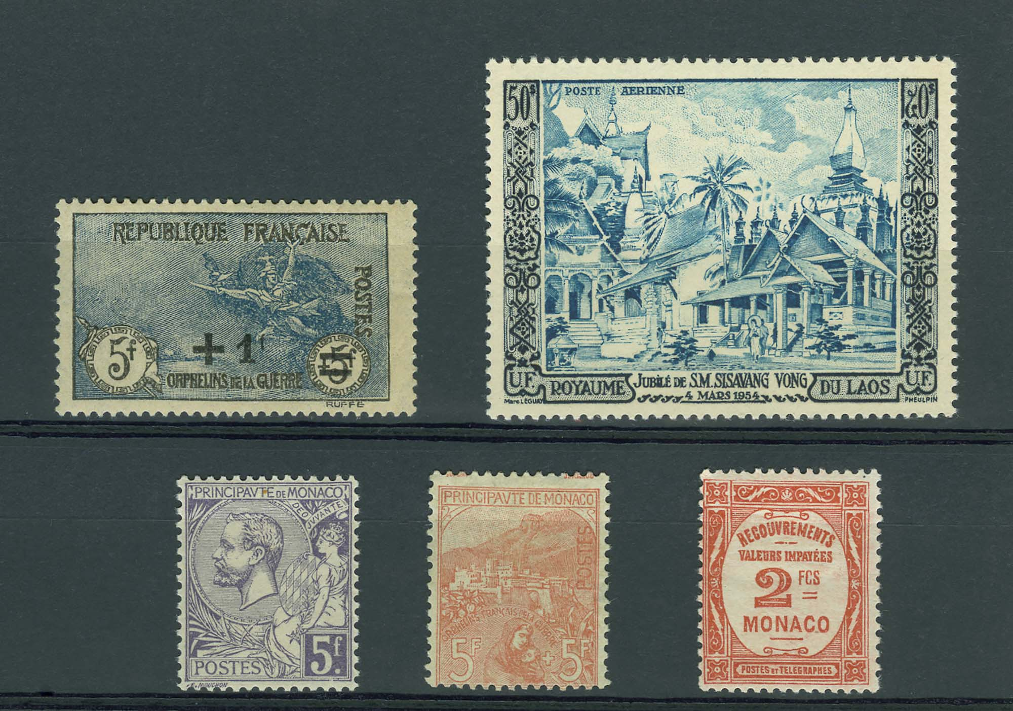 Lot image - France and Colonies Stamp Collection