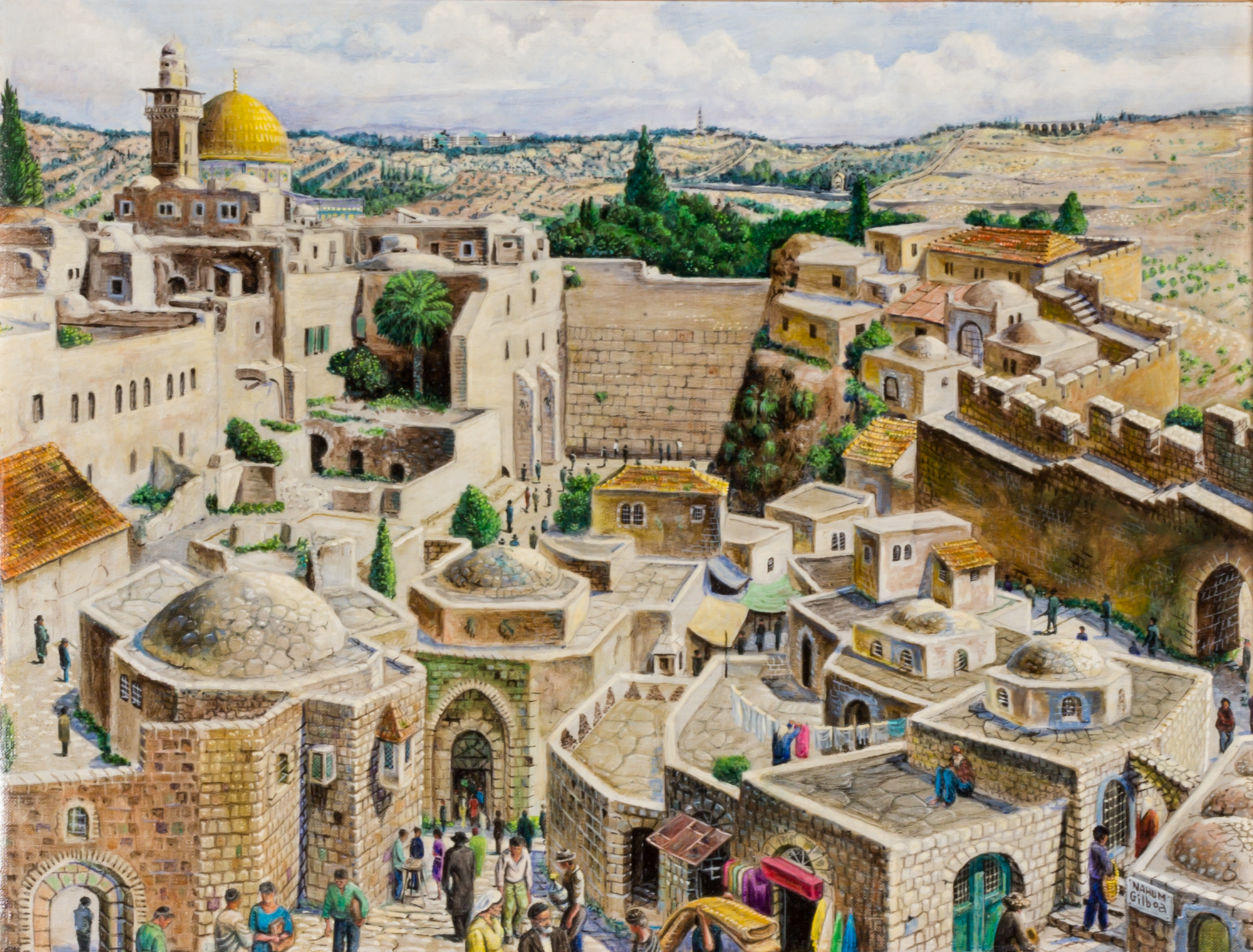 Lot image - Nahum Gilboa
