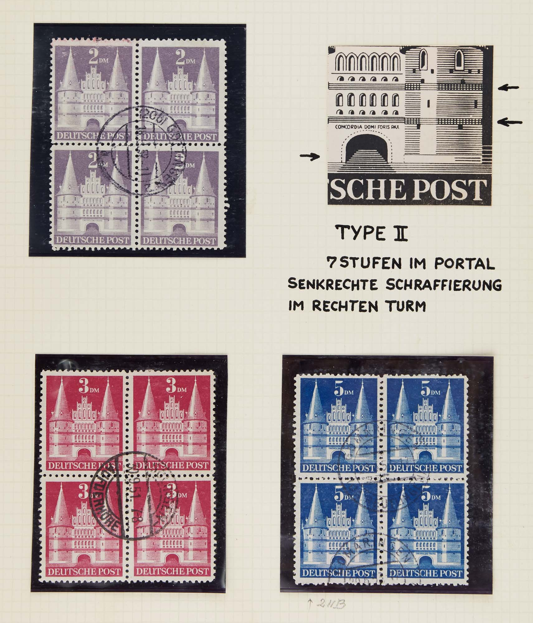 Lot image - Germany Building Series of 1948 Collection